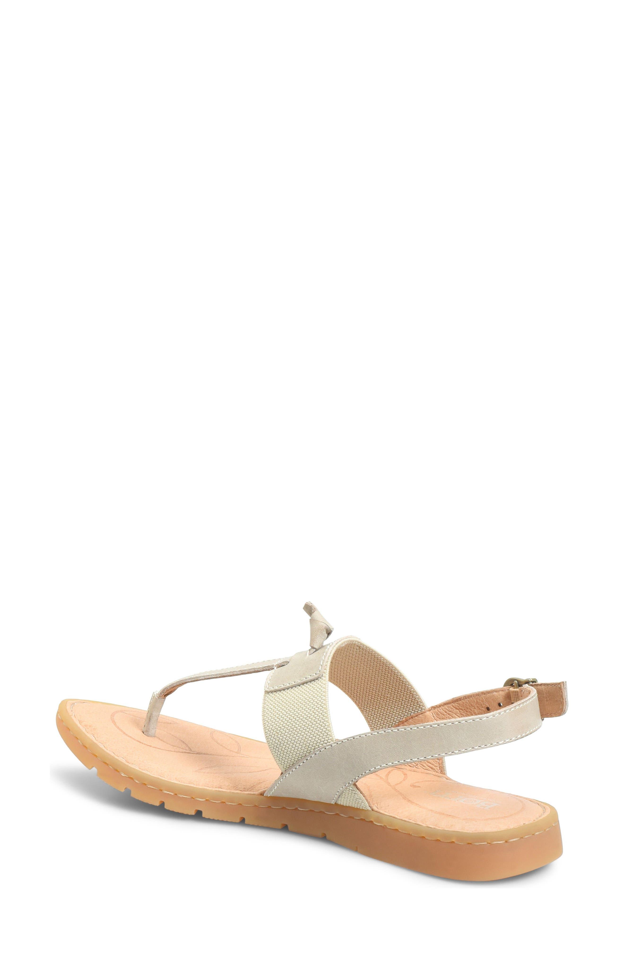 Siri Sandal,                             Alternate thumbnail 2, color,                             Cream Leather