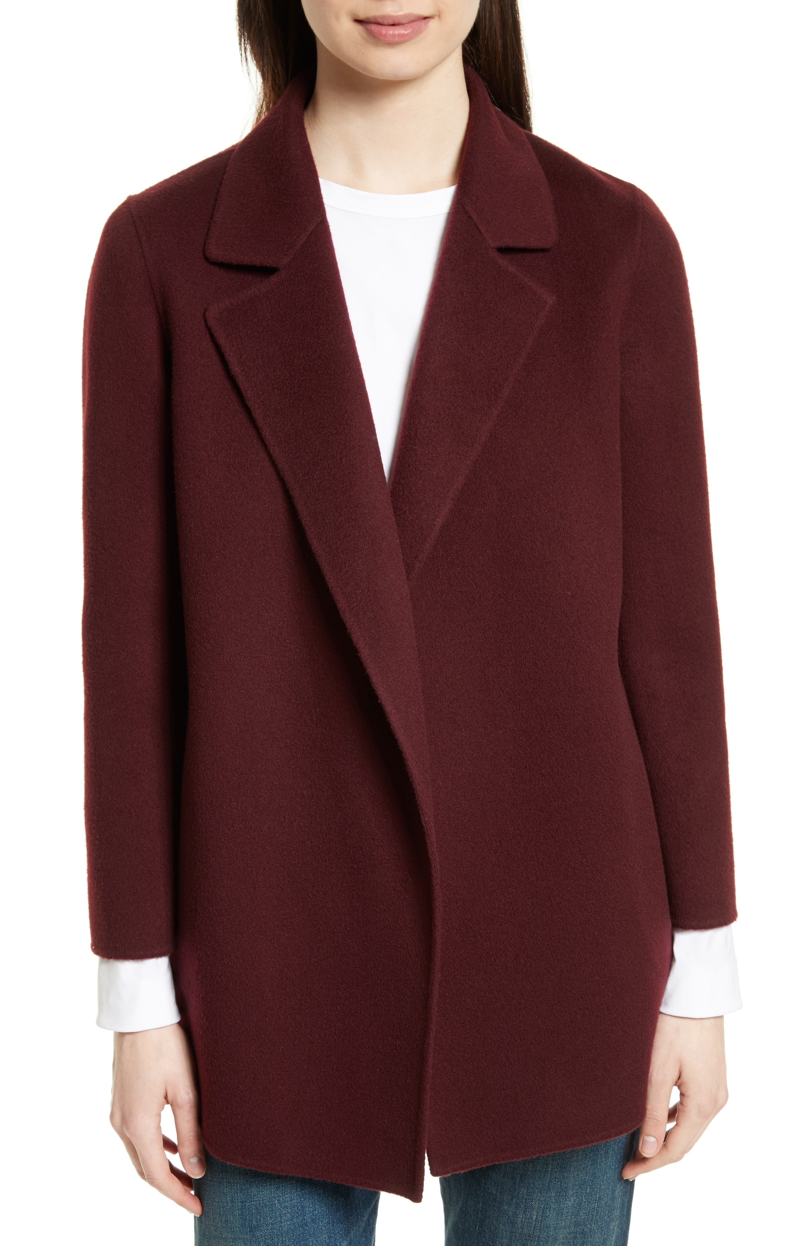 Women's Purple Wool Coats | Nordstrom | Nordstrom