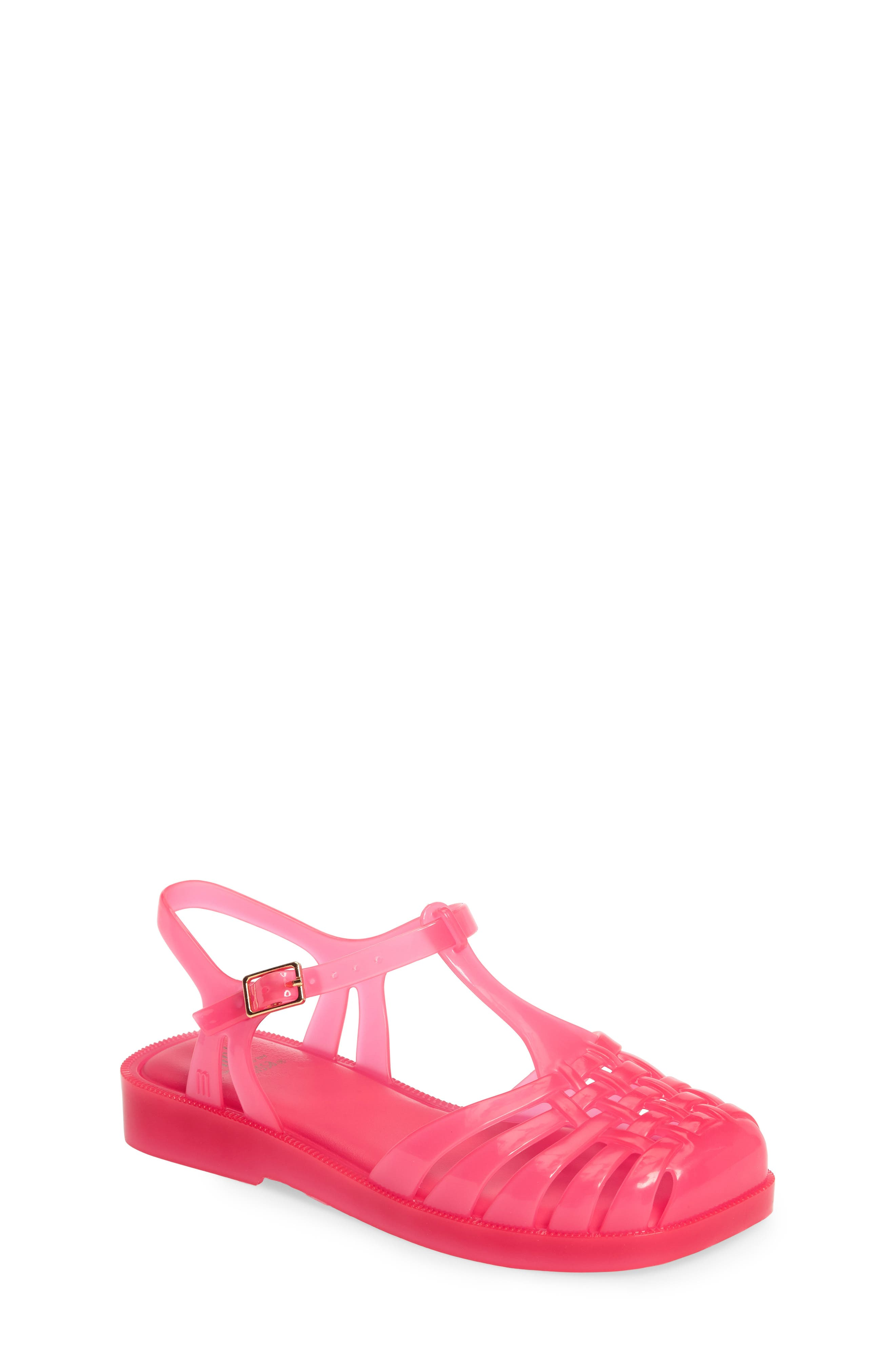 Main Image - Mel by Melissa Aranha Quadrada Sandal (Toddler & Little Kid)