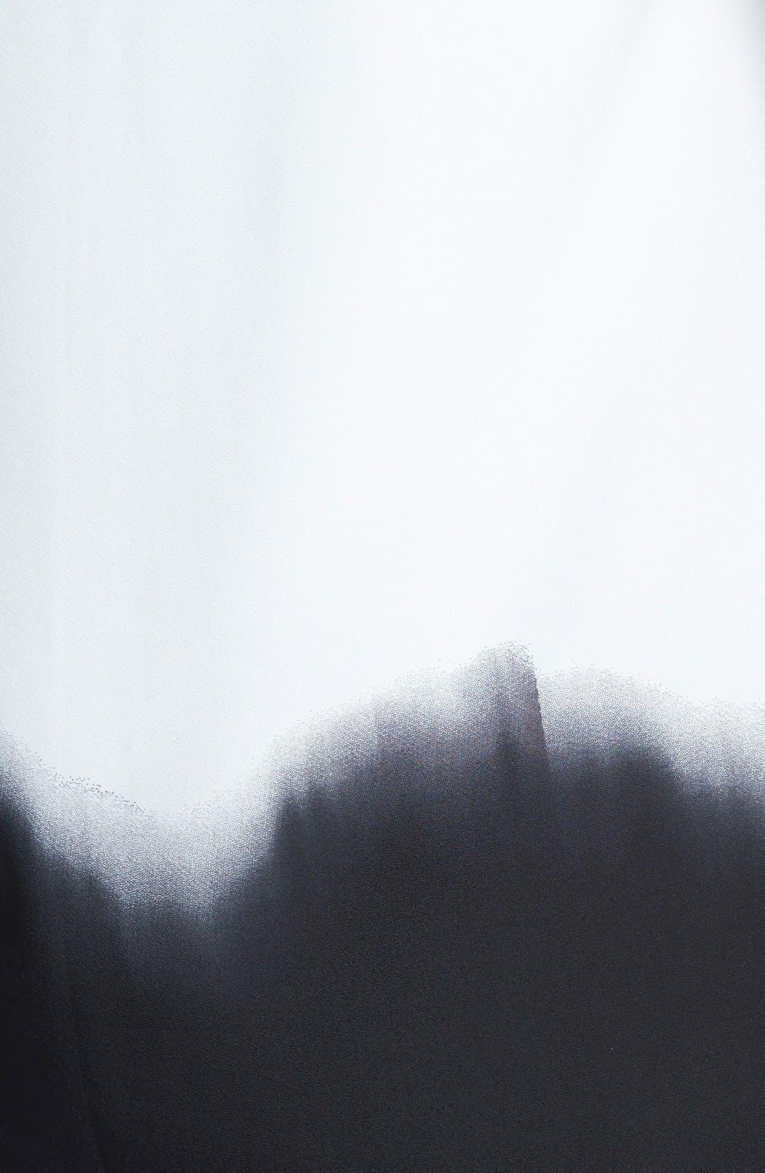Alternate Image 3  - DKNYC V-Neck Pleat Front Blouse