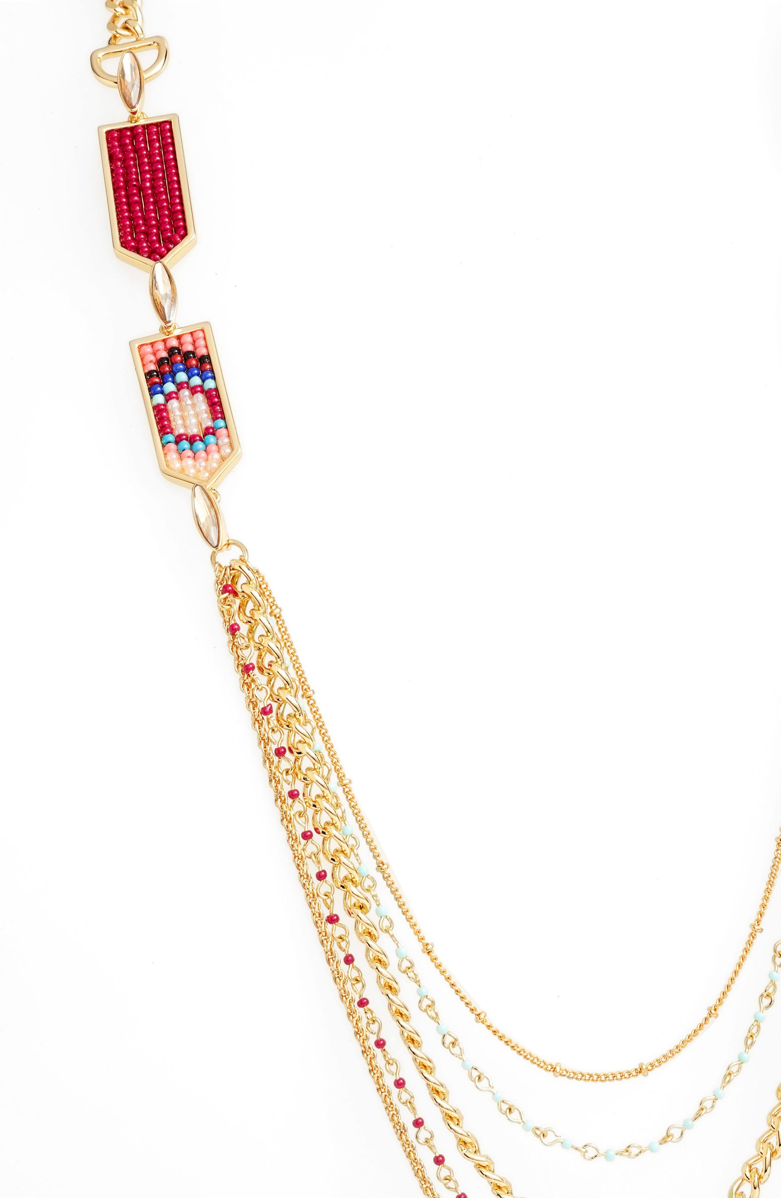 Alternate Image 2  - Rebecca Minkoff Catalina Seed Bead Multi Strand Necklace
