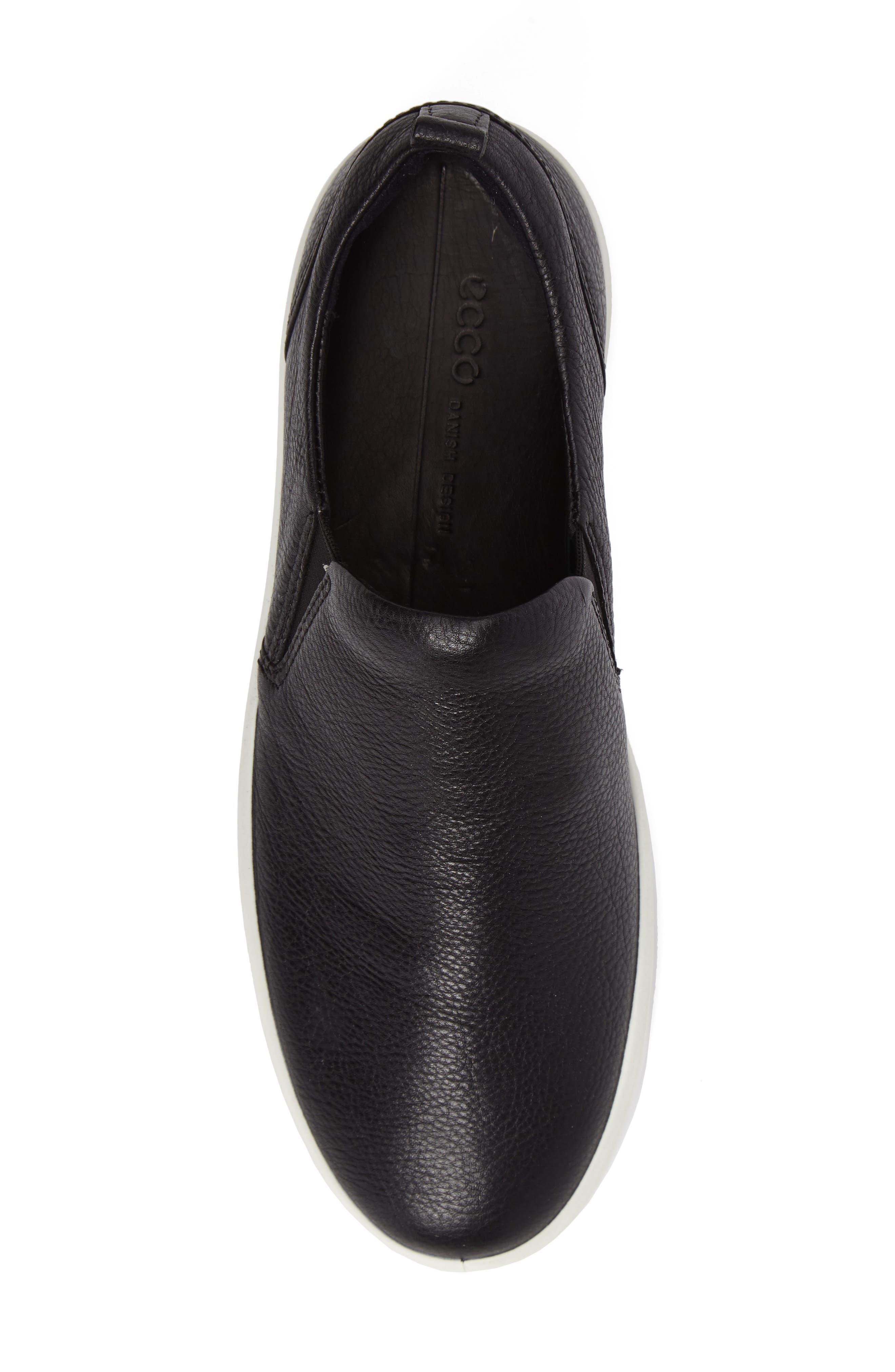 Alternate Image 5  - ECCO Soft 8 Slip-On Sneaker (Women)