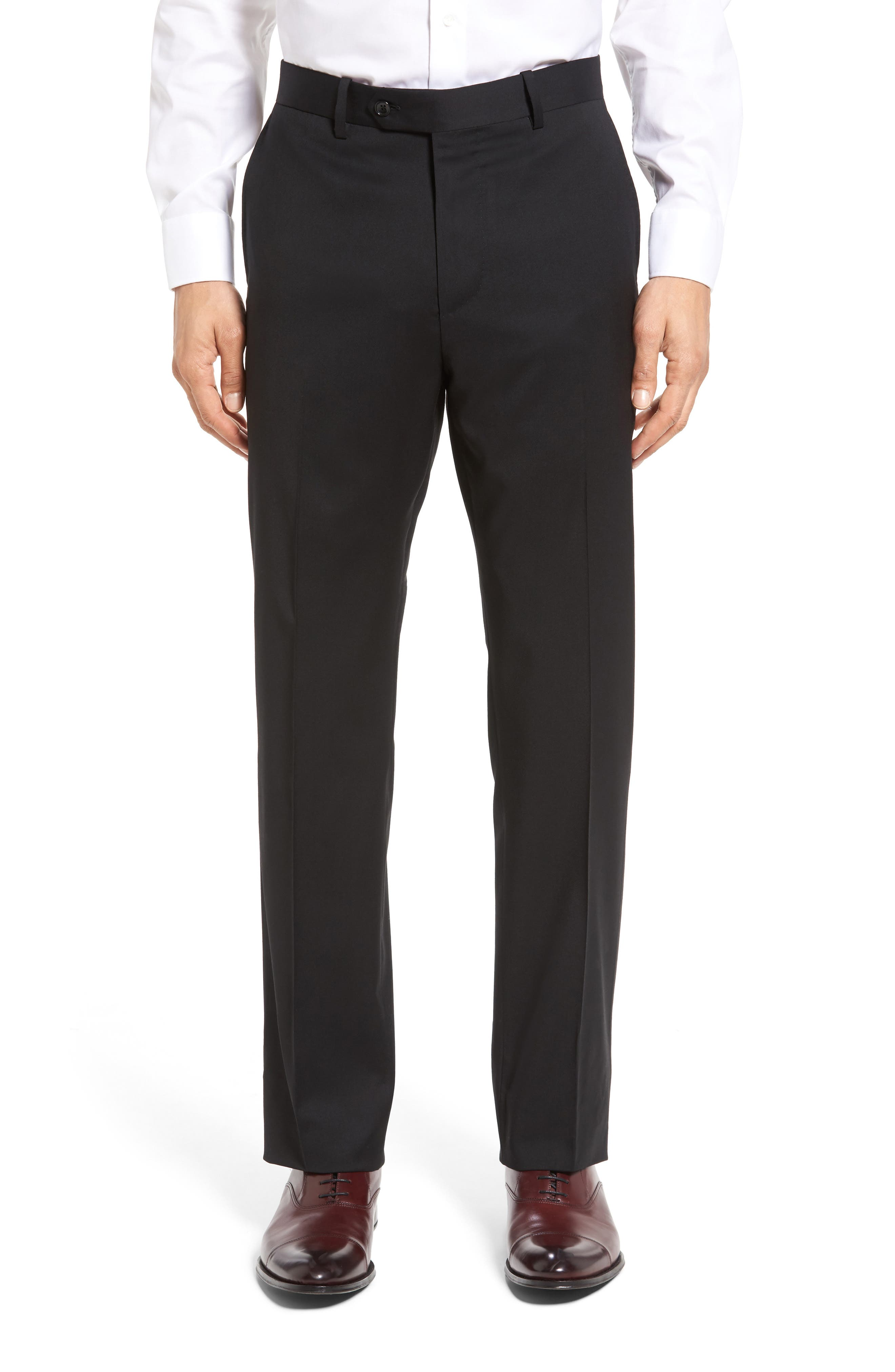 Alternate Image 6  - John W. Nordstrom® Classic Fit Solid Wool Suit