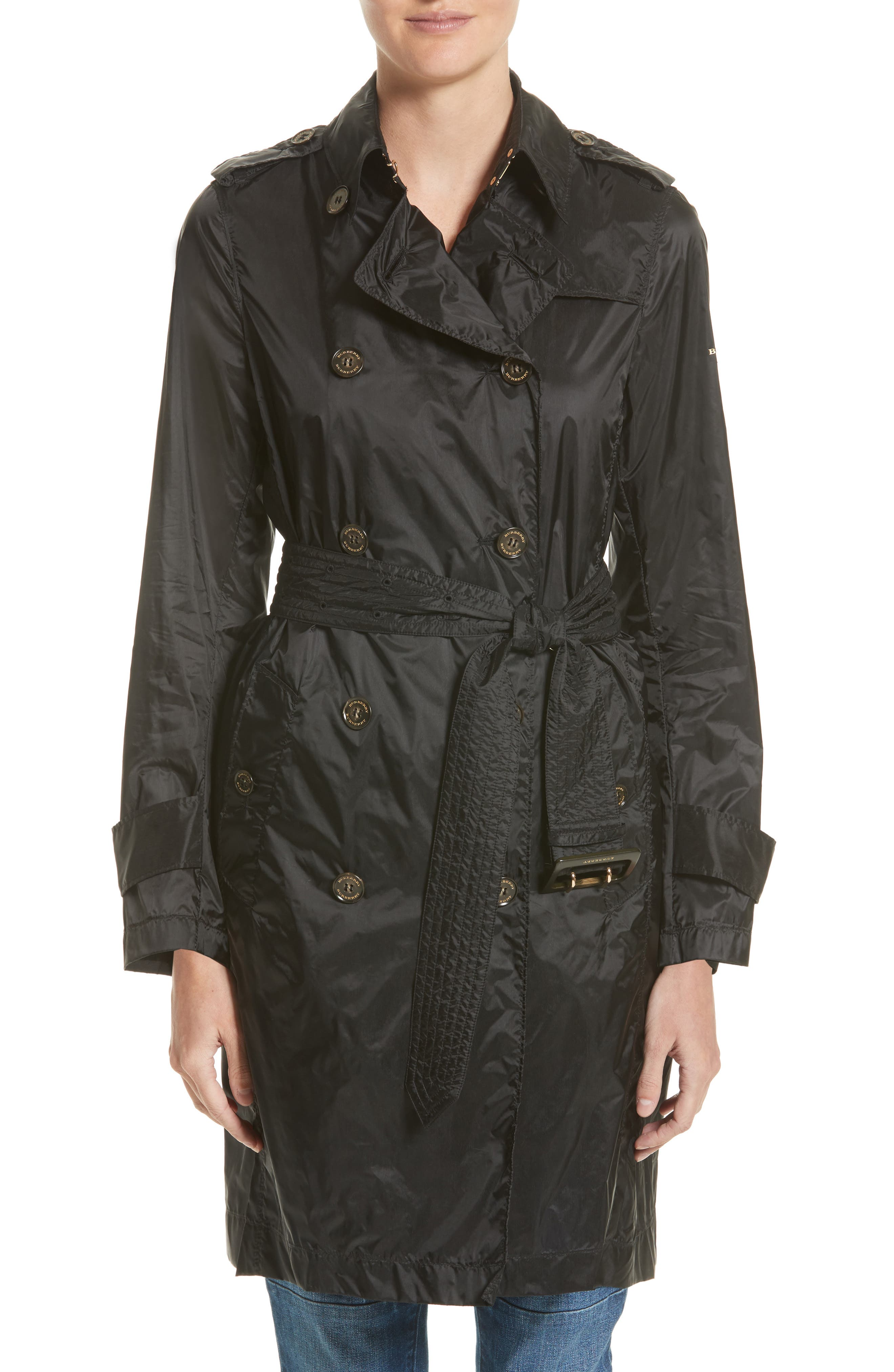 Alternate Image 1 Selected - Burberry Kenwick Trench Coat