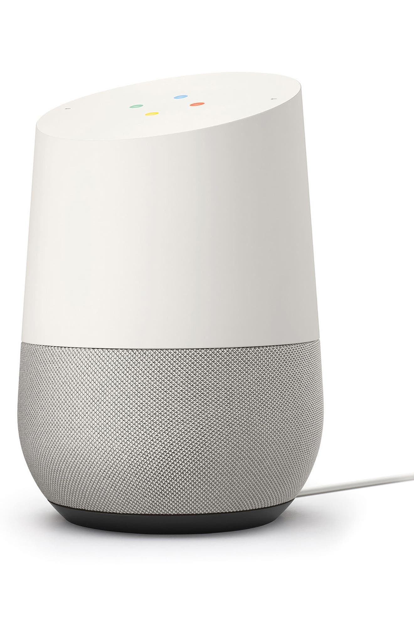 Home Voice Activated Speaker,                         Main,                         color, White