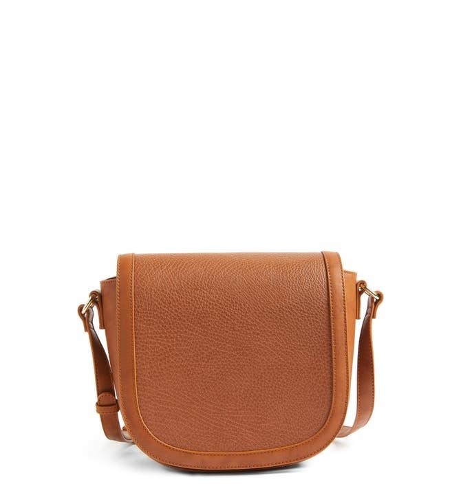 Sole Society Finnigan Faux Leather Crossbody Bag | Nordstrom