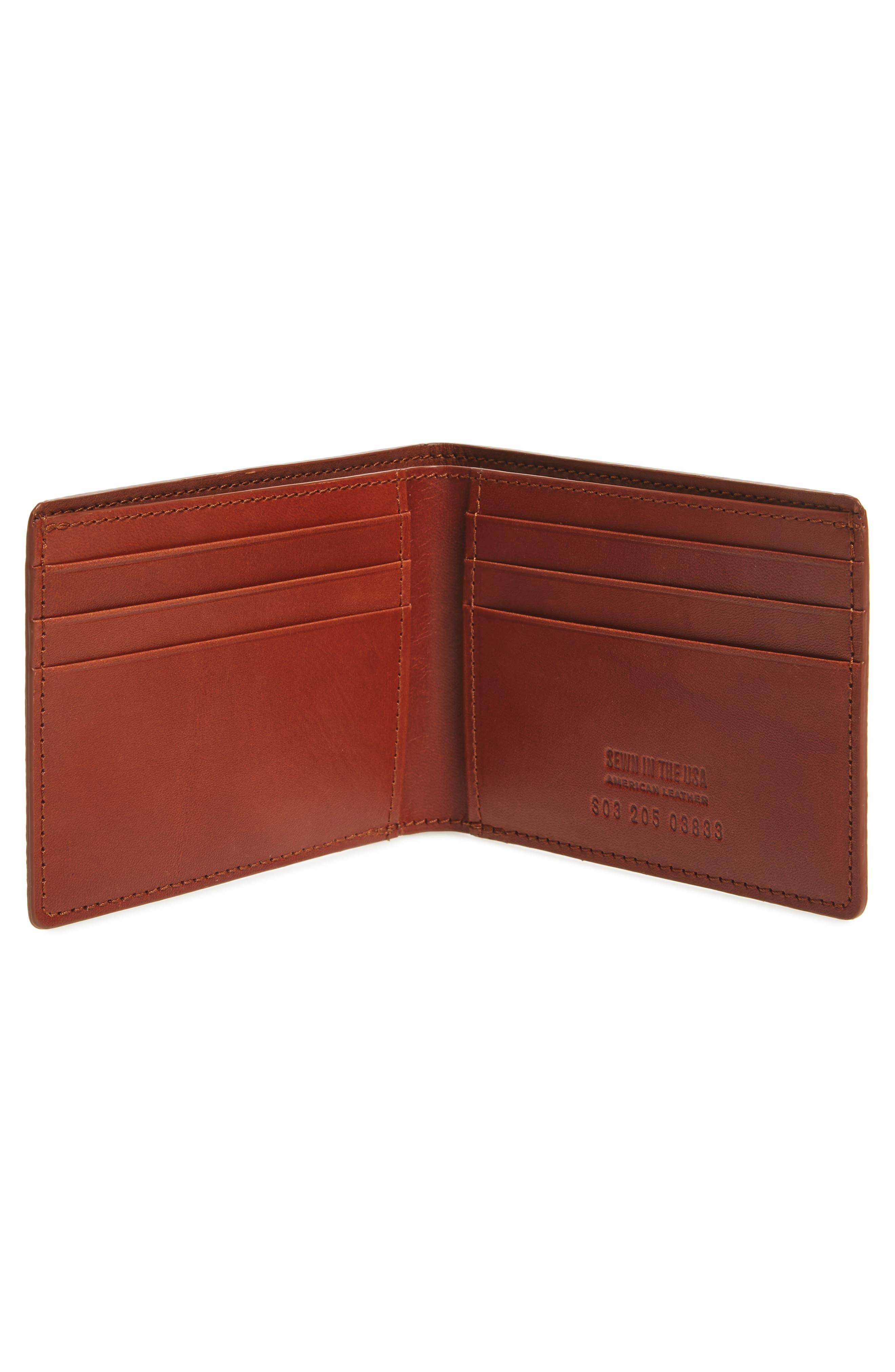 Alternate Image 2  - Shinola Leather Wallet