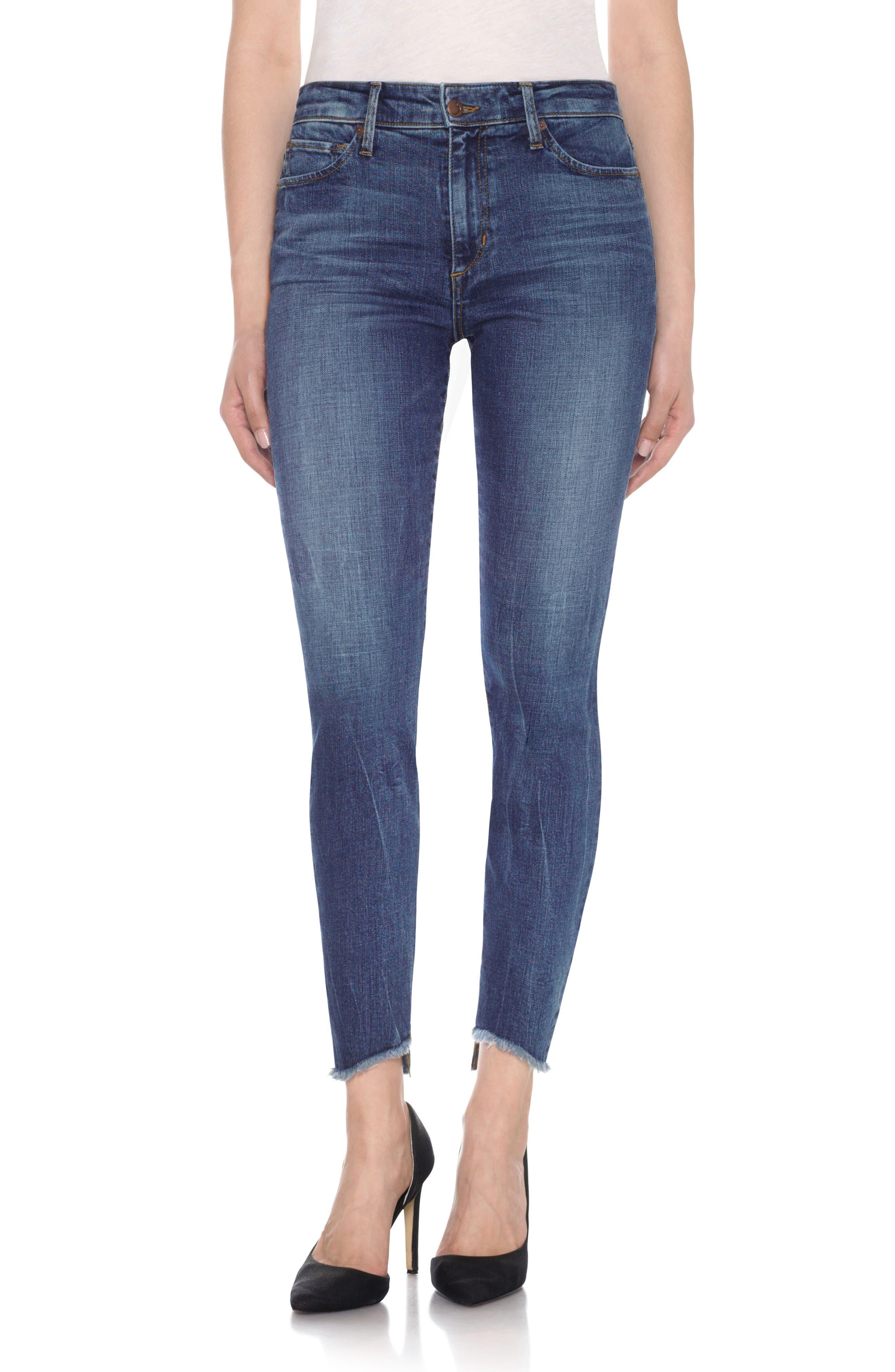 Alternate Image 1 Selected - Joe's Charlie - Blondie High Rise Ankle Skinny Jeans (Kody)