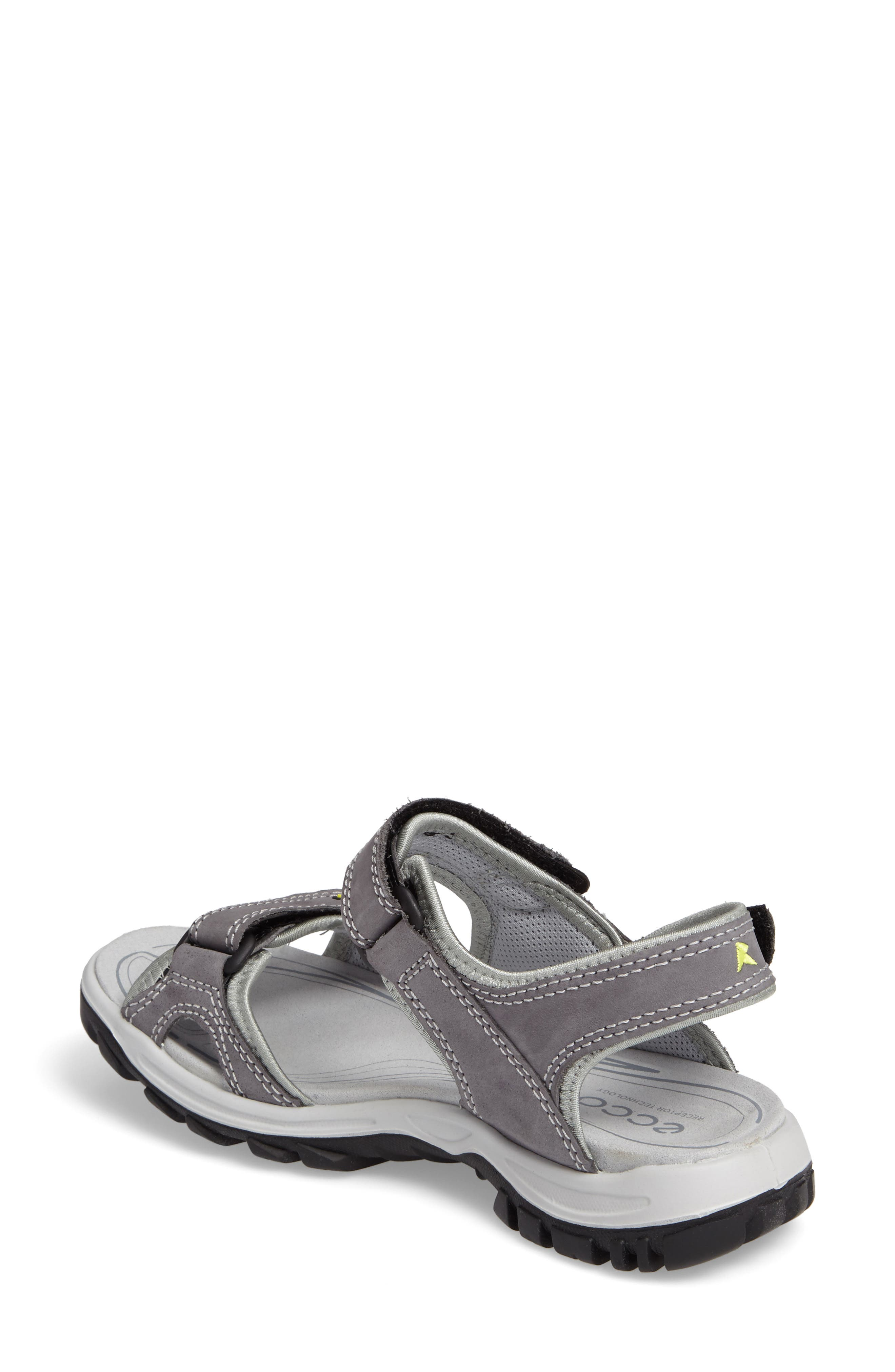 'Offroad' Lightweight Sandal,                             Alternate thumbnail 2, color,                             Titanium Leather