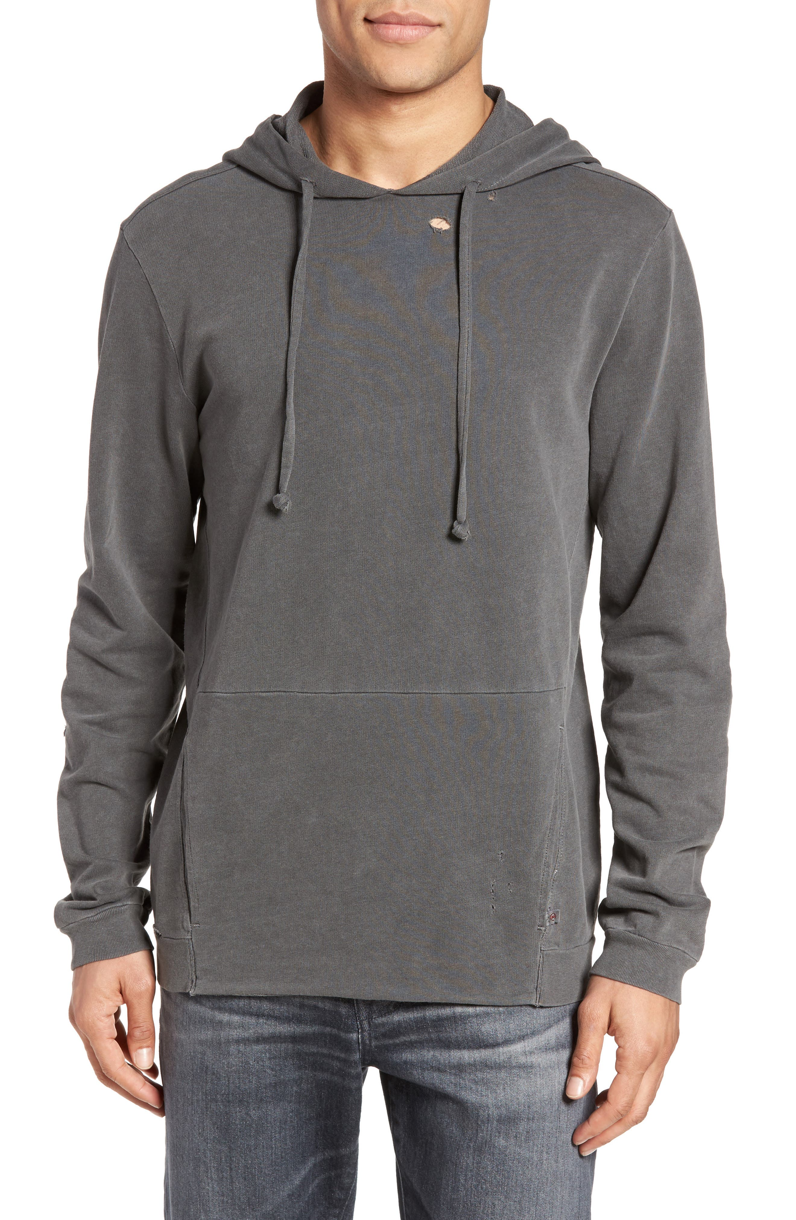 Eloi Pullover Hoodie,                             Main thumbnail 1, color,                             Pigment True Black
