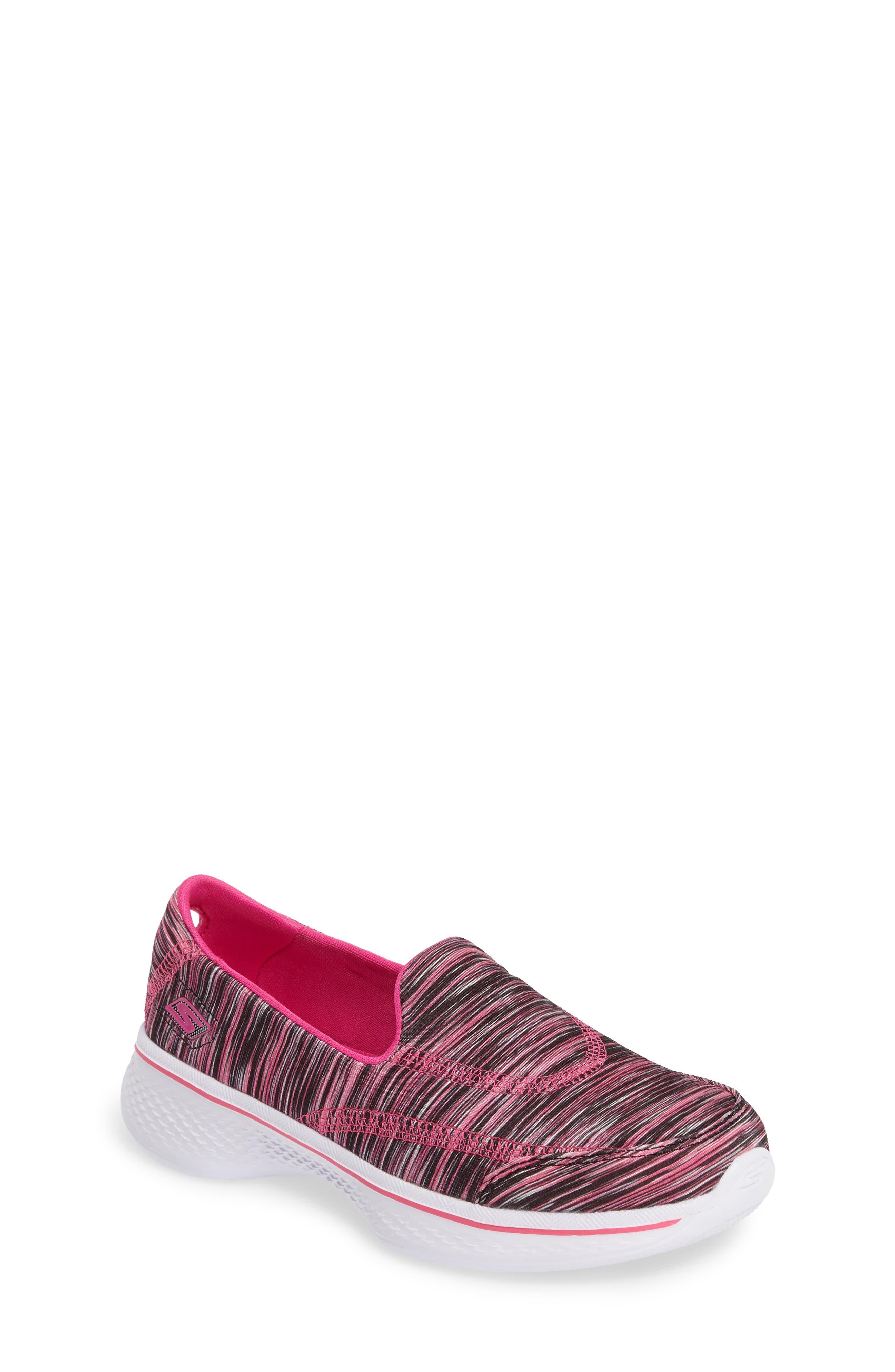 Skechers Go Walk 4 Slip-On Sneaker (Toddler, Little Kid & Big Kid)