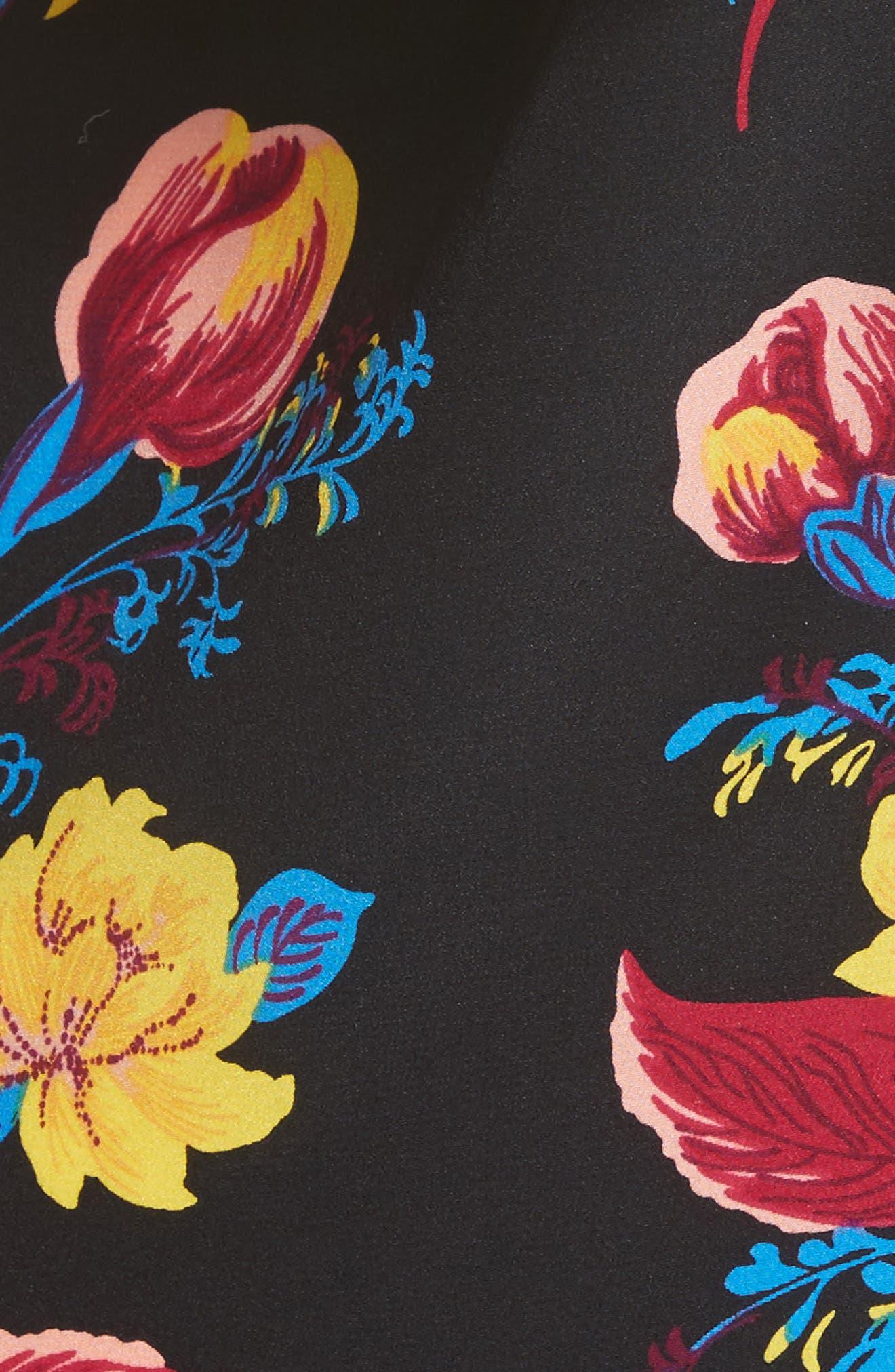 Alternate Image 4  - Diane von Furstenberg Off the Shoulder Floral Silk Blouse