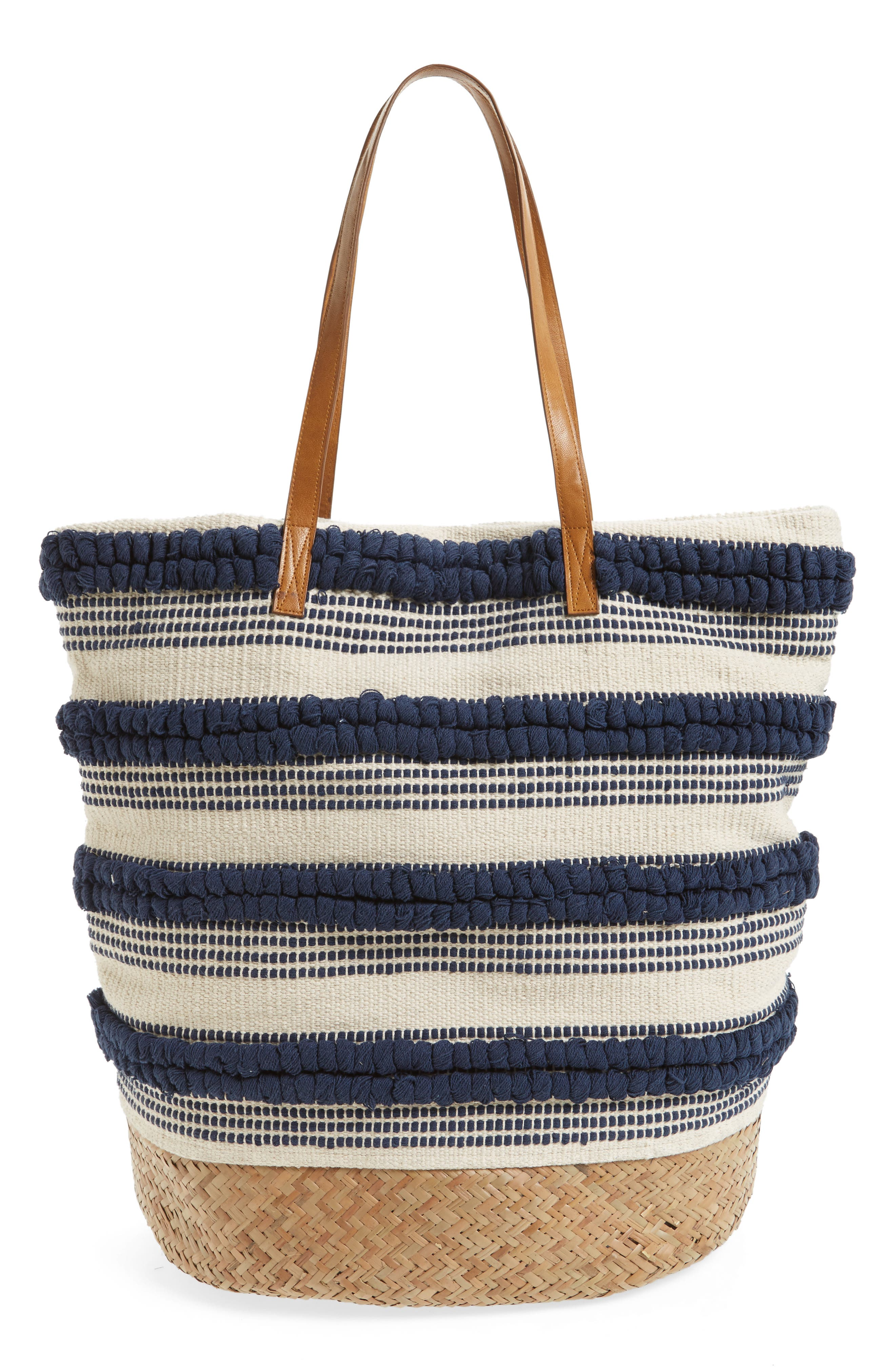 Alternate Image 2  - Sole Society Woven Bottom Tote