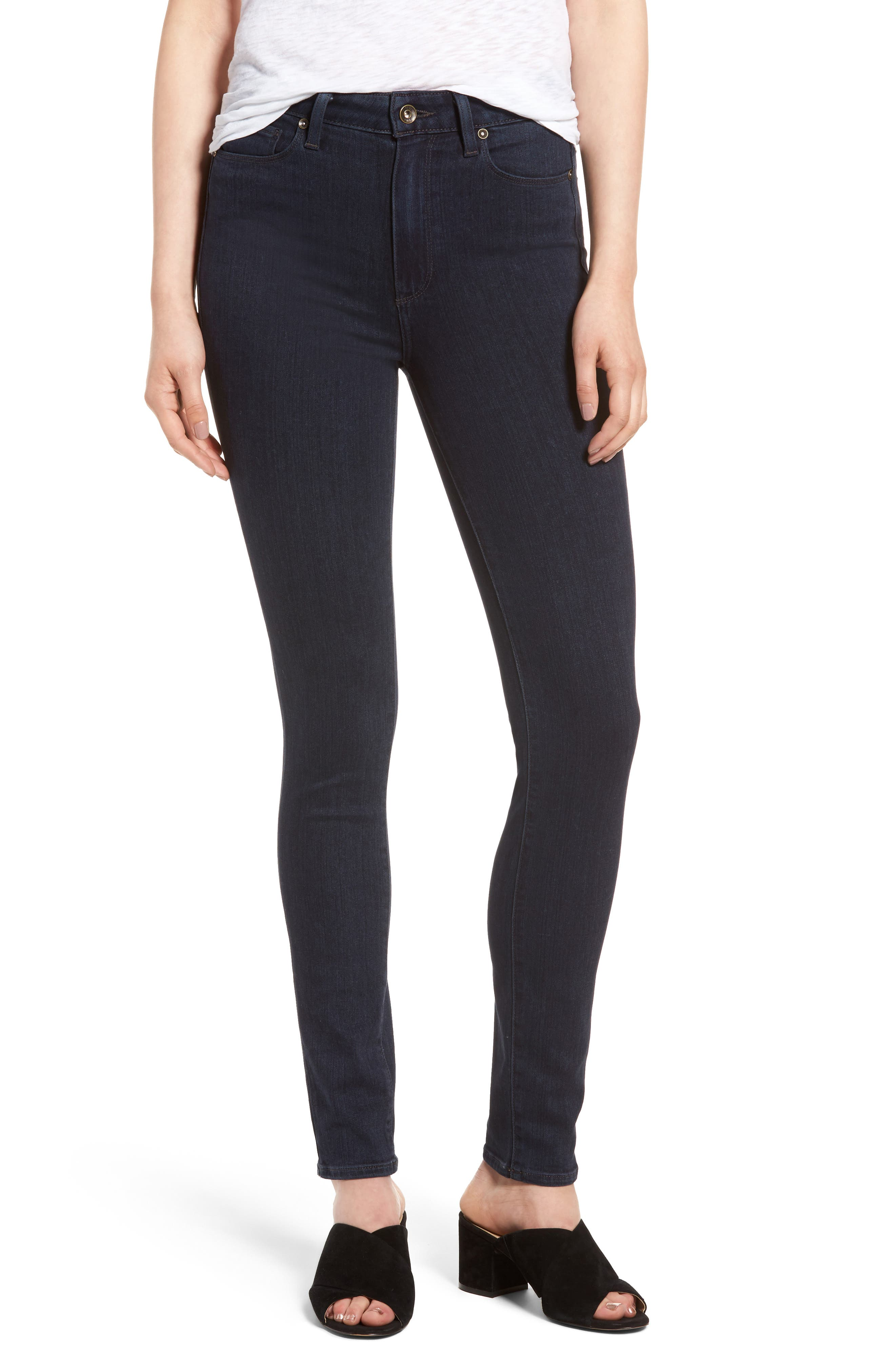 PAIGE Margot High Waist Ultra Skinny Jeans (Gabriel)