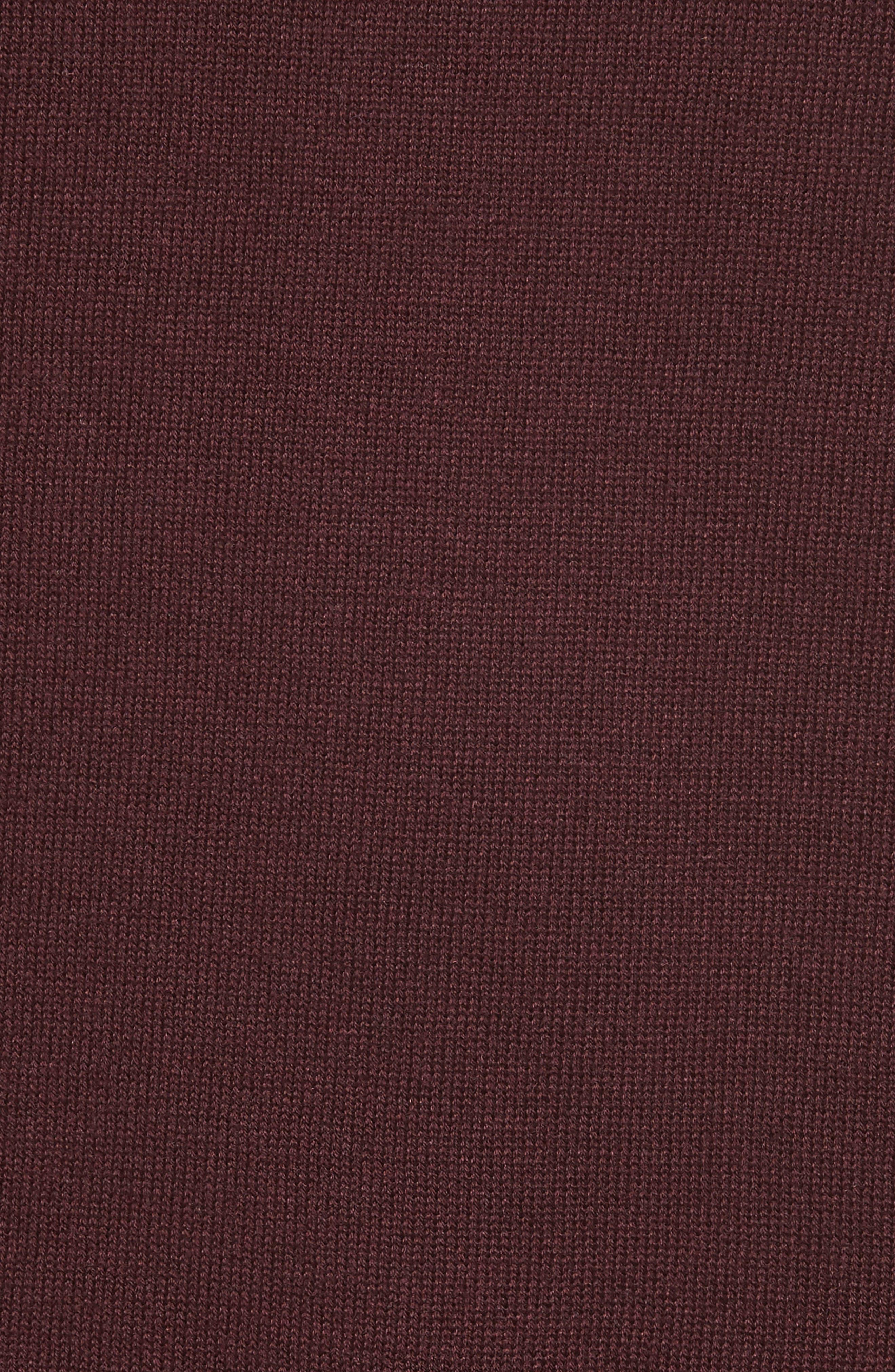 Alternate Image 5  - Halogen® Cotton Blend Off the Shoulder Sweater (Regular & Petite)
