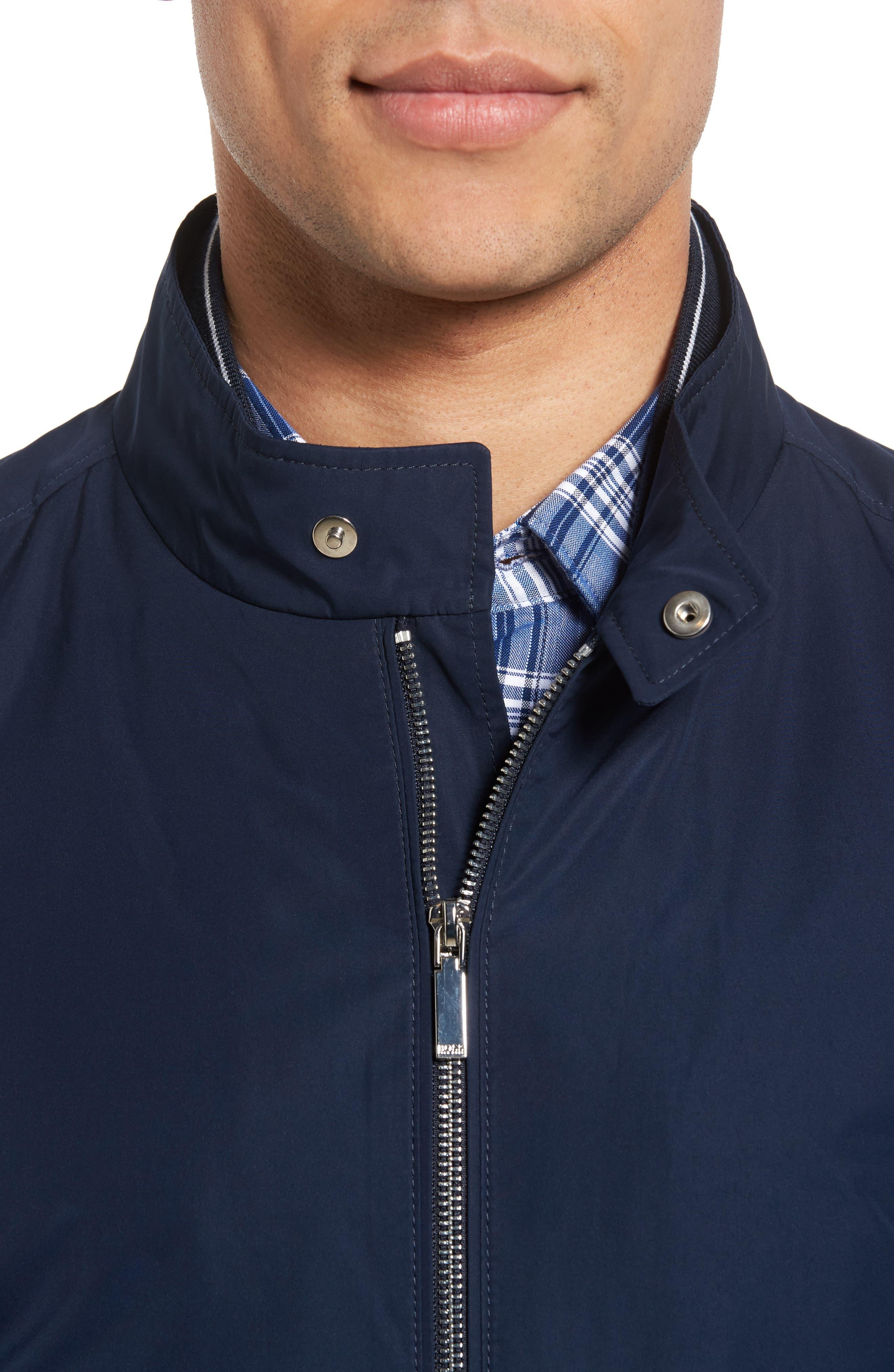 Alternate Image 4  - BOSS Cael Zip Front Jacket