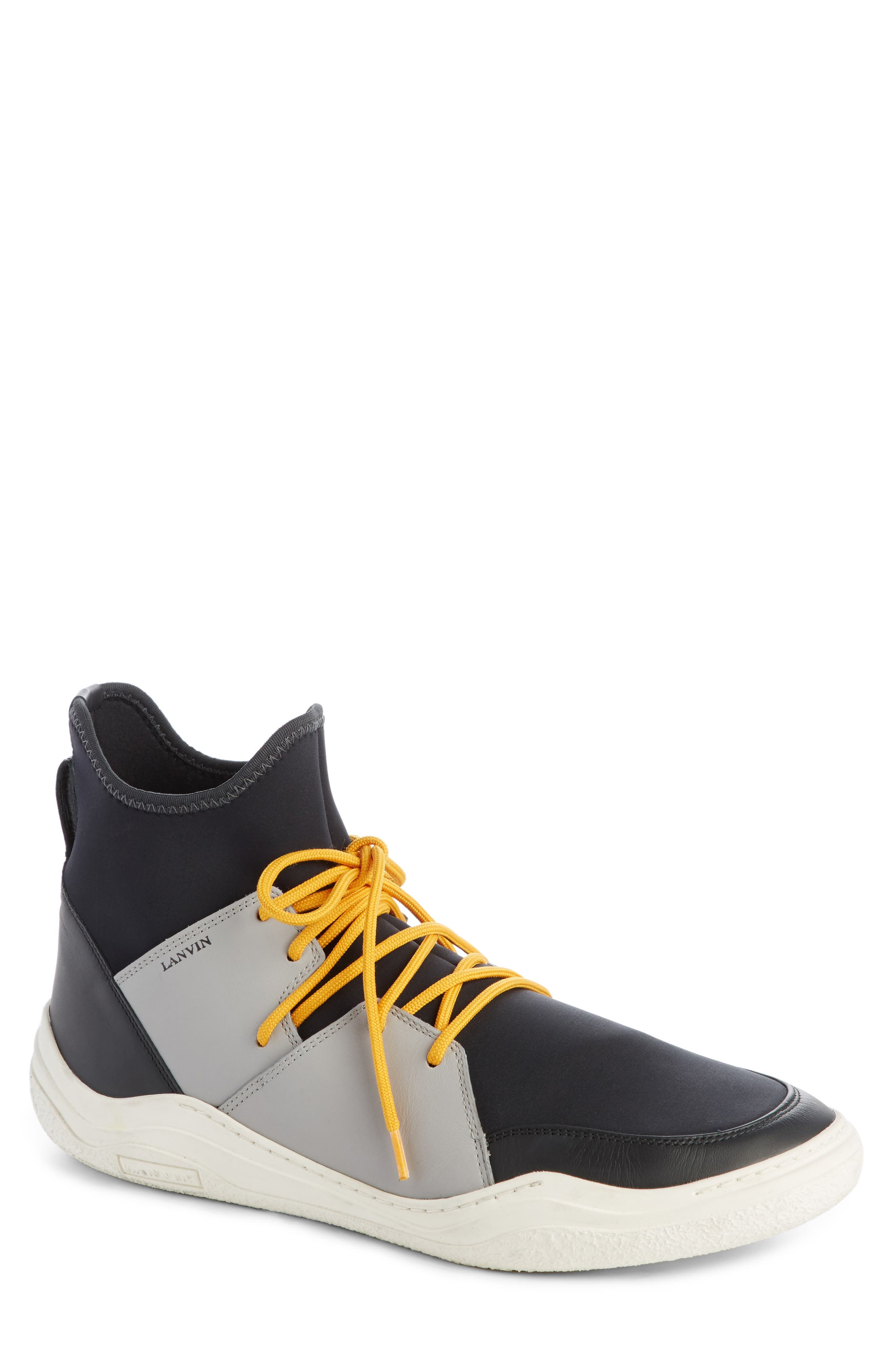 Lanvin High Top Sneaker (Men)