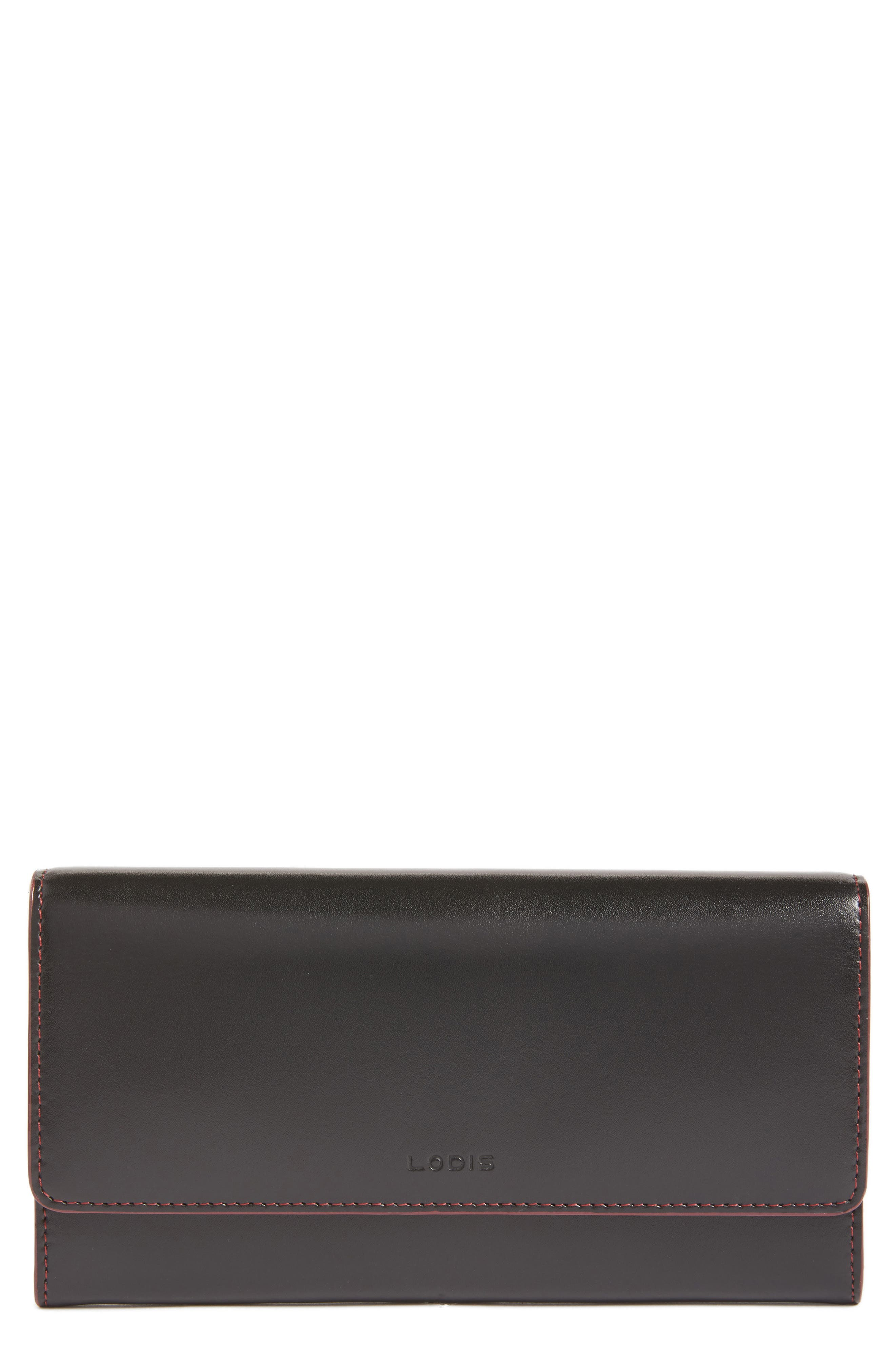 Lodis Audrey- Cami RFID Leather Clutch Wallet