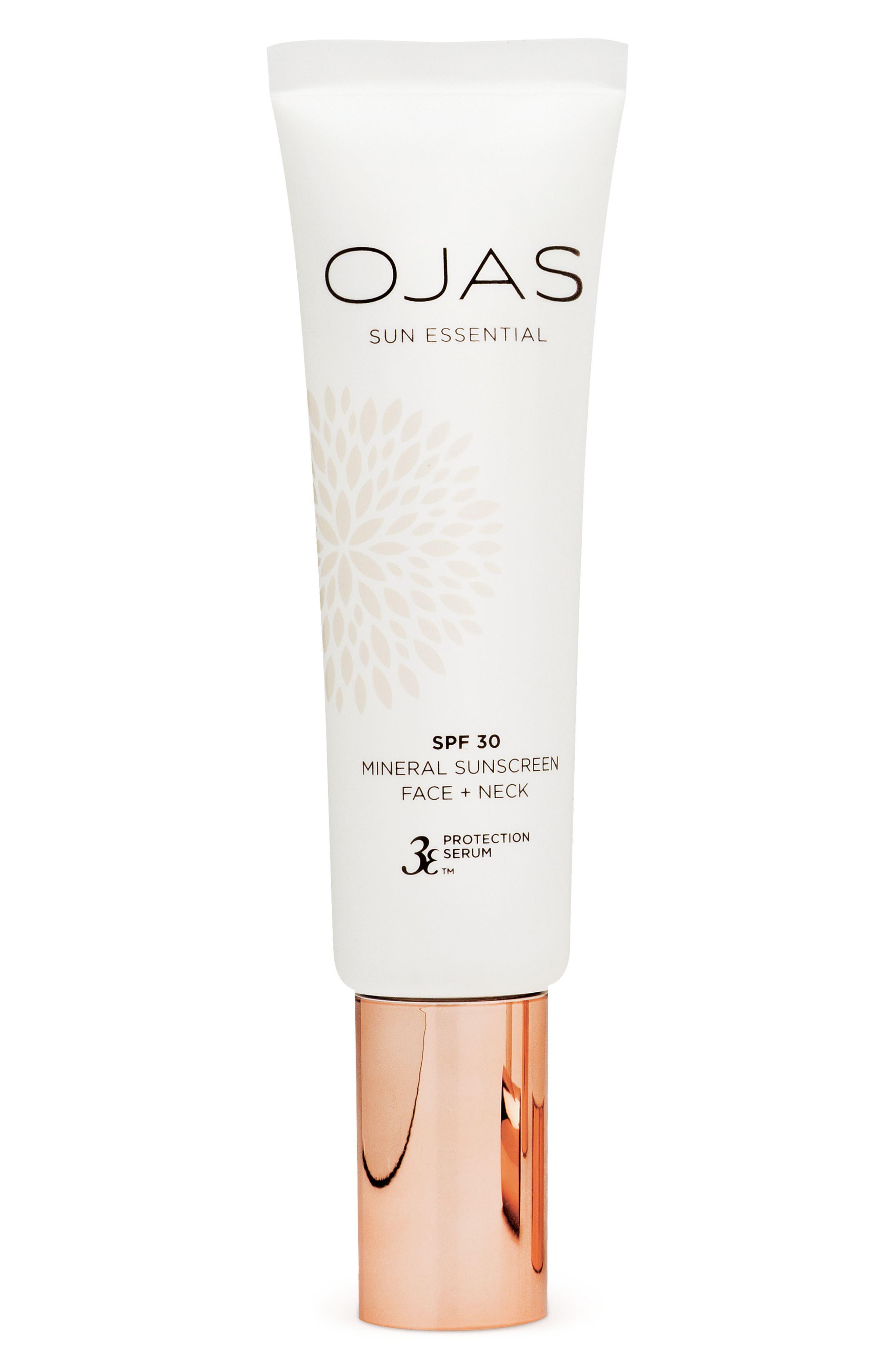 OJAS SPF 30 Mineral Sunscreen Face + Neck