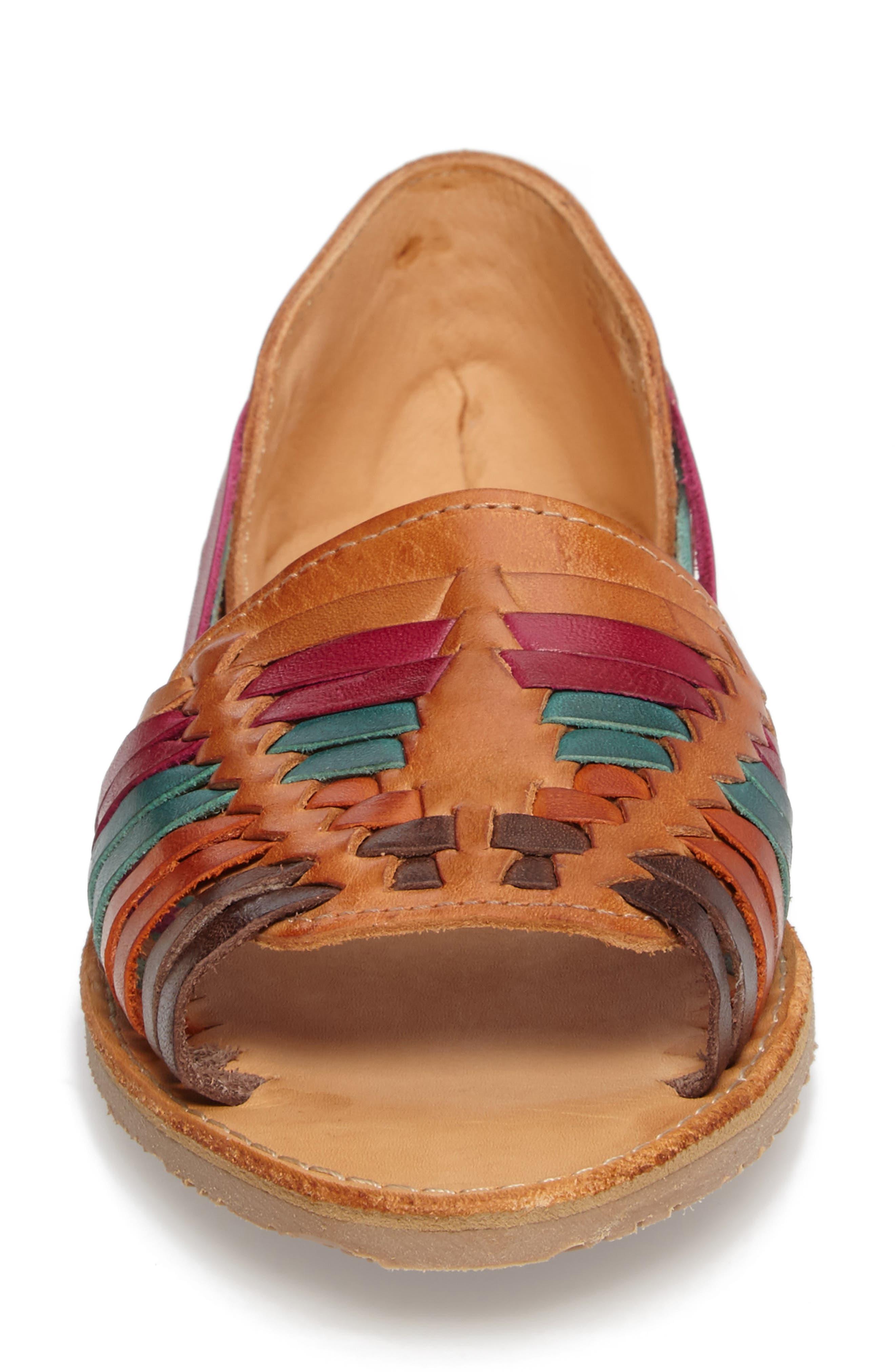 Alternate Image 4  - Sbicca Jared Peep Toe Flat (Women)