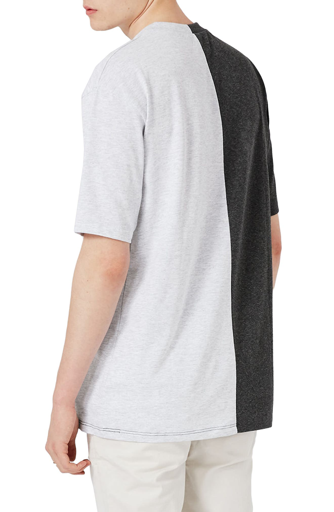 Alternate Image 3  - Topman Splice T-Shirt