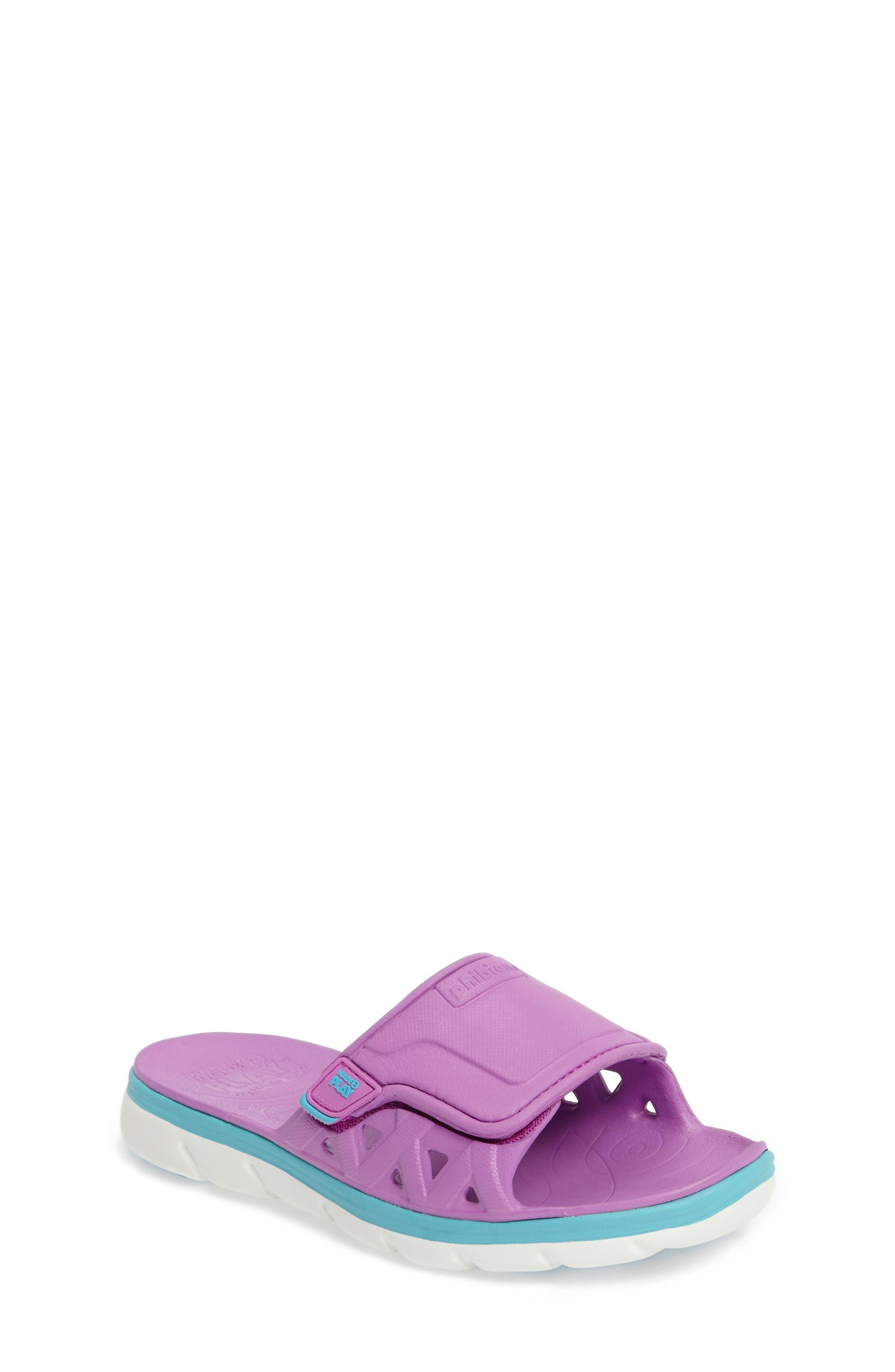 Stride Rite Made2Play® Phibian Slide Sandal (Toddler & Little Kid)