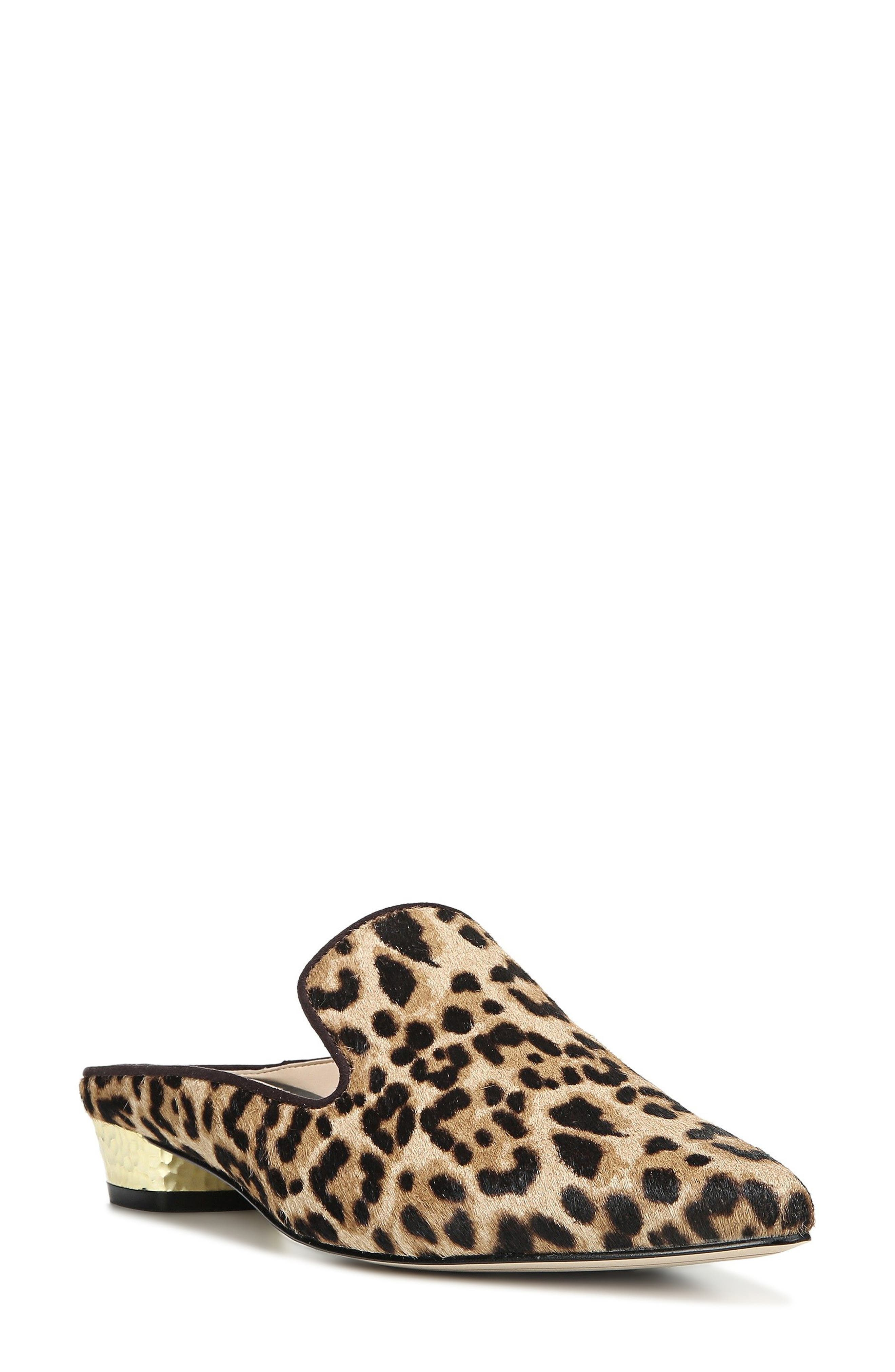 Alternate Image 1 Selected - Sam Edelman Augustine Patterned Loafer Mule (Women)