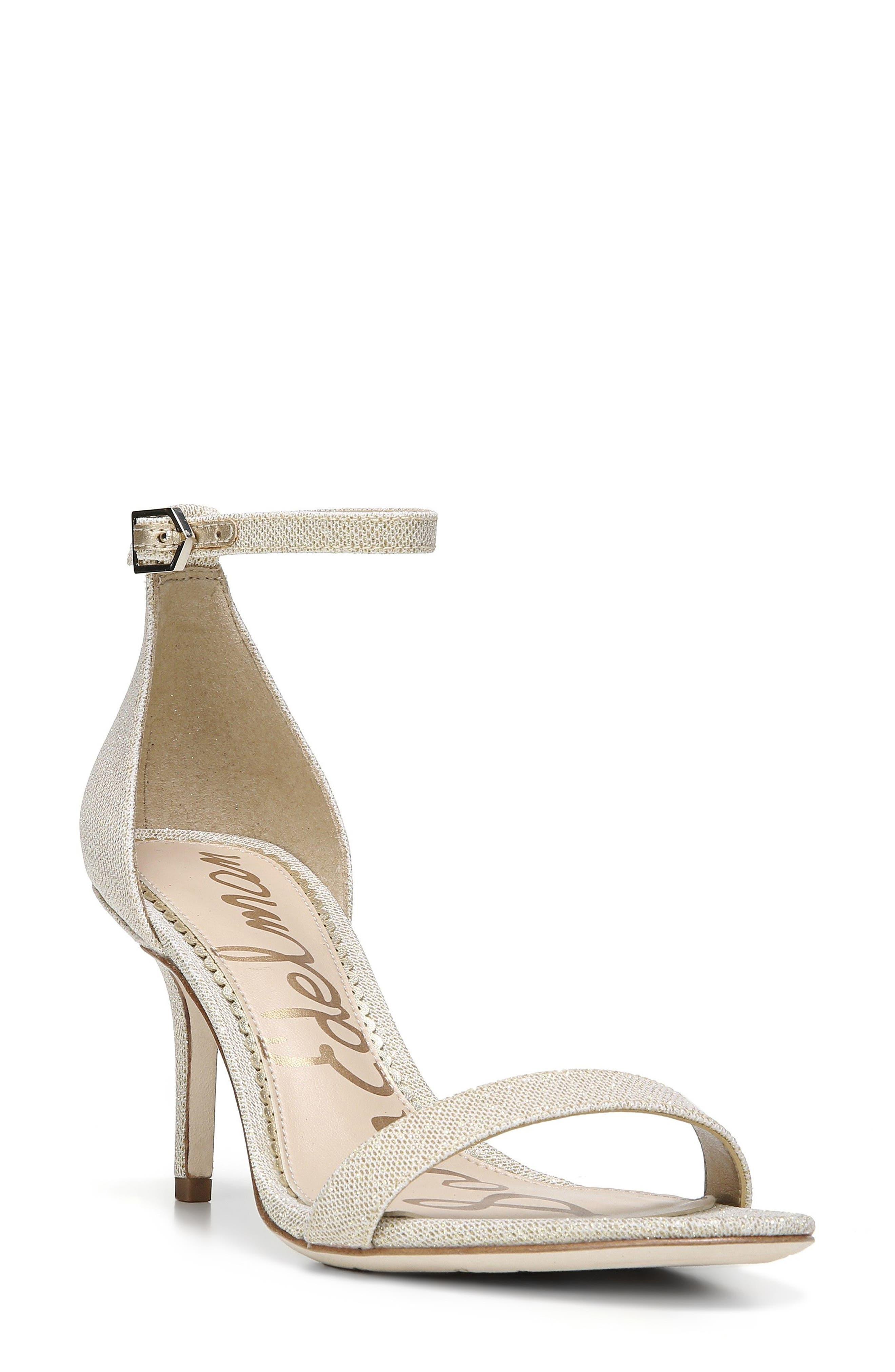 Patti Ankle Strap Sandal,                         Main,                         color, Jute Fabric