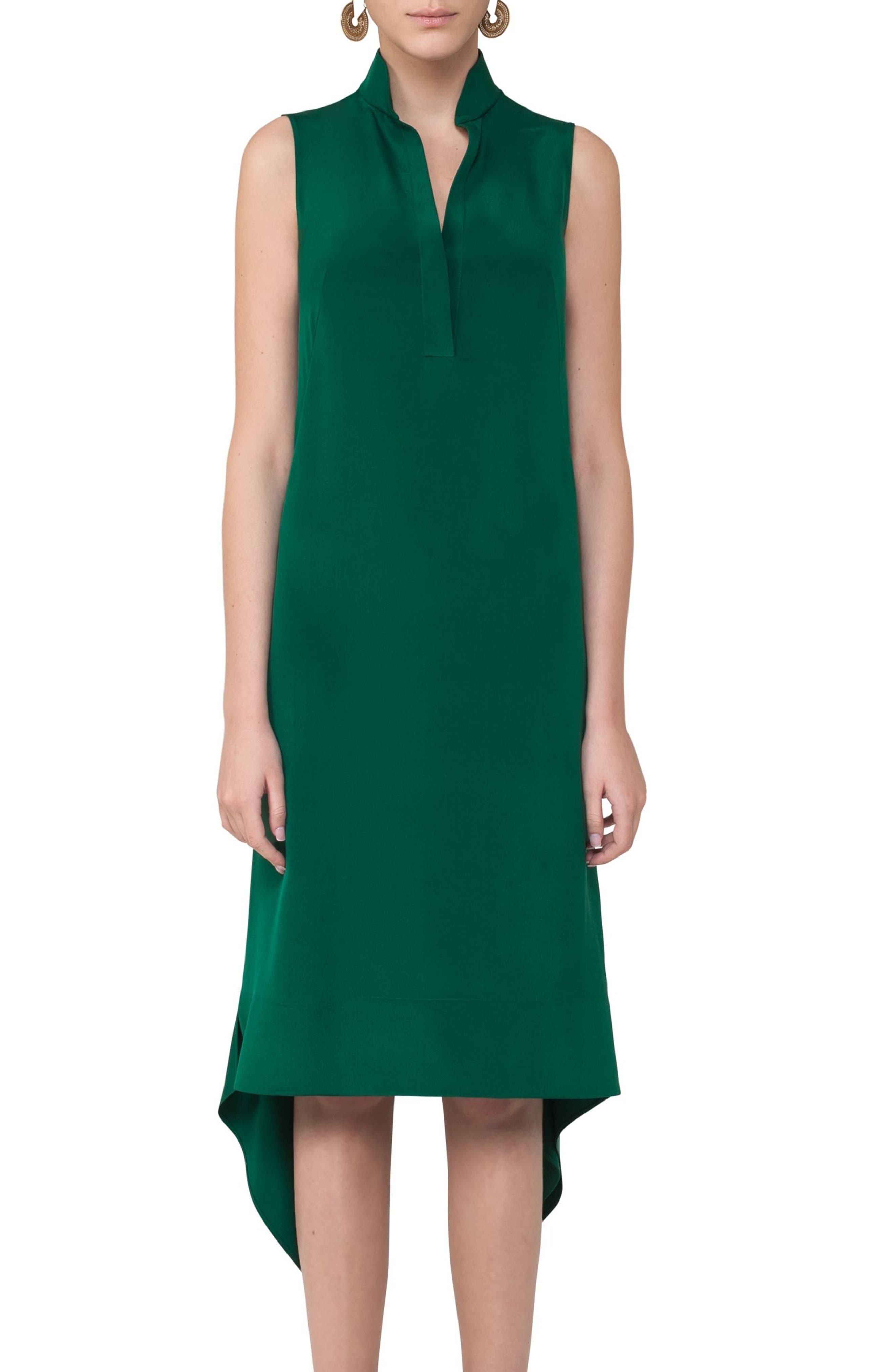 Alternate Image 3  - Akris punto Handkerchief Hem Dress