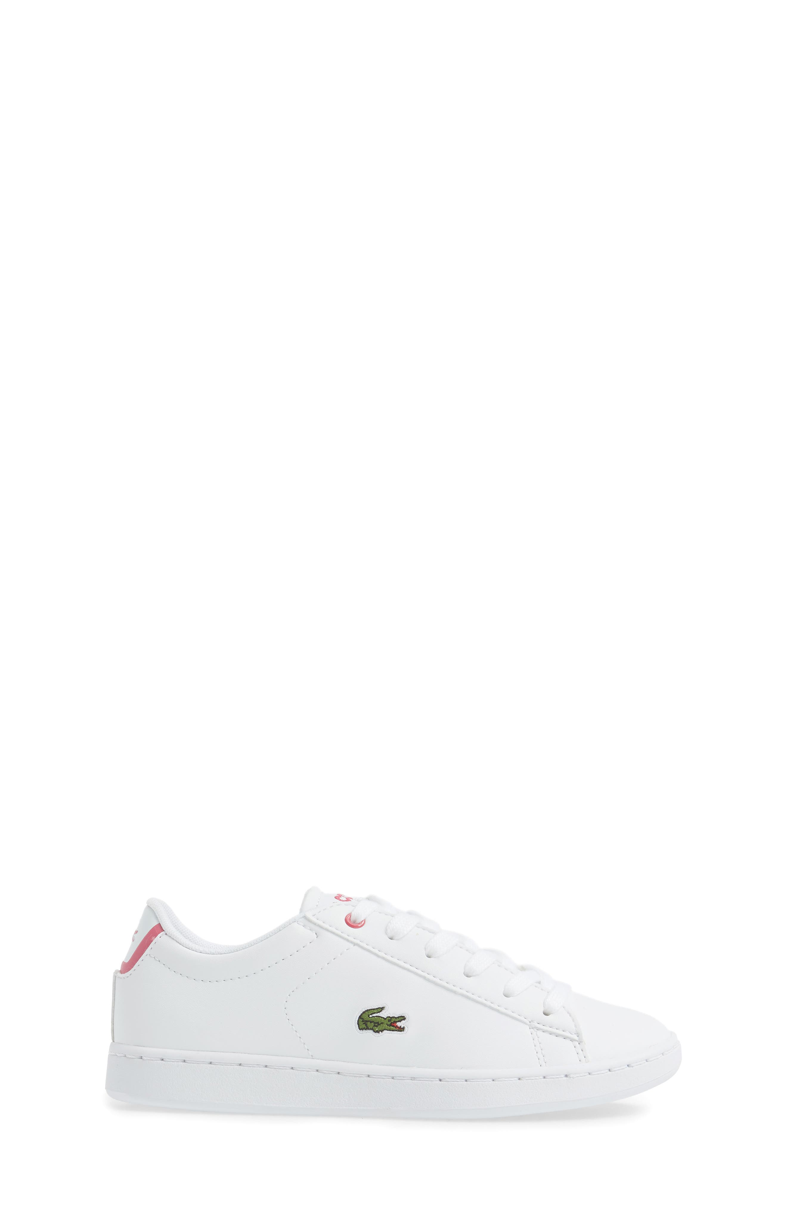 Carnaby EVO Sneaker,                             Alternate thumbnail 3, color,                             White/ Pink