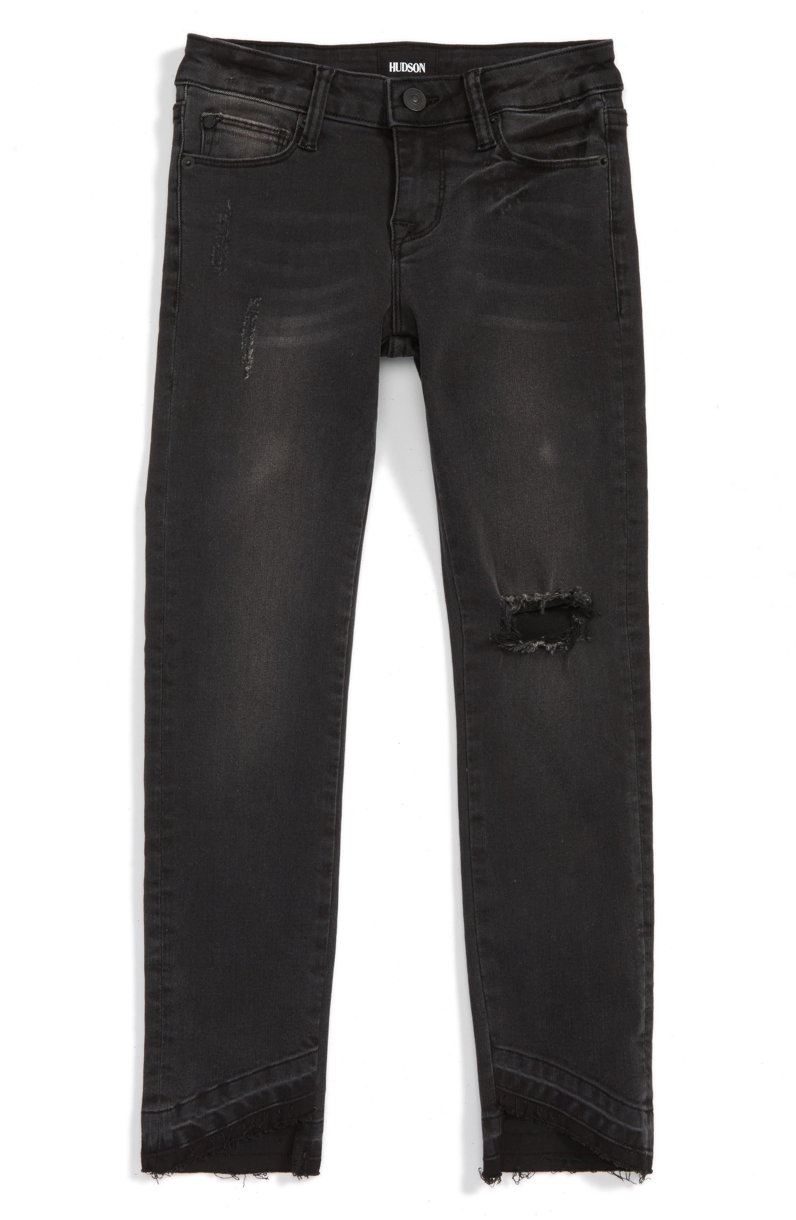 Hudson Kids Angled Skinny Jeans (Big Girls)