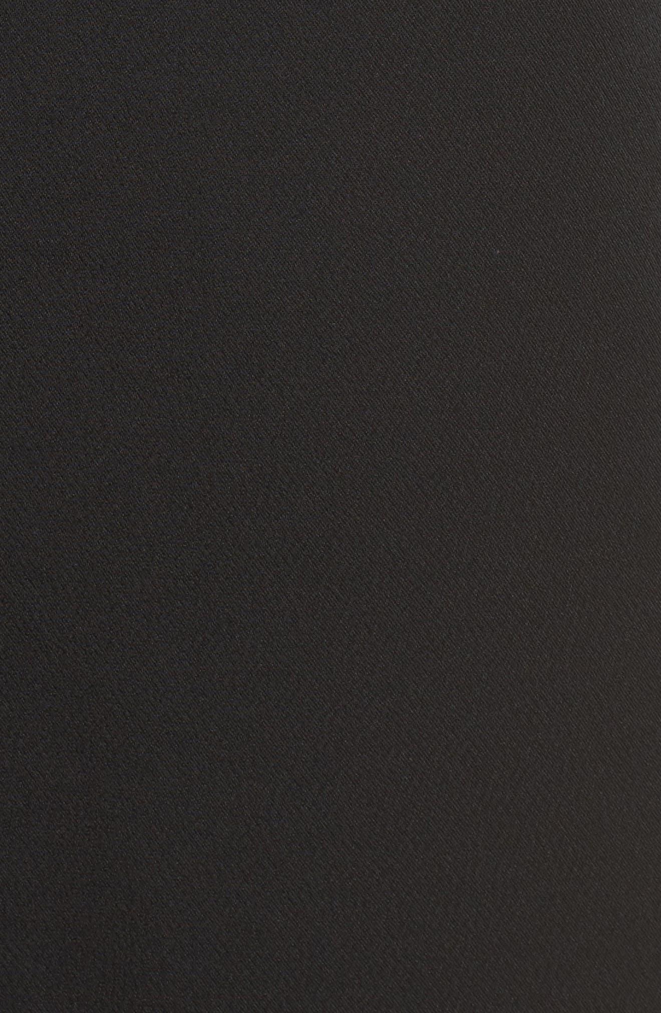 Heath Shift Dress,                             Alternate thumbnail 5, color,                             Black
