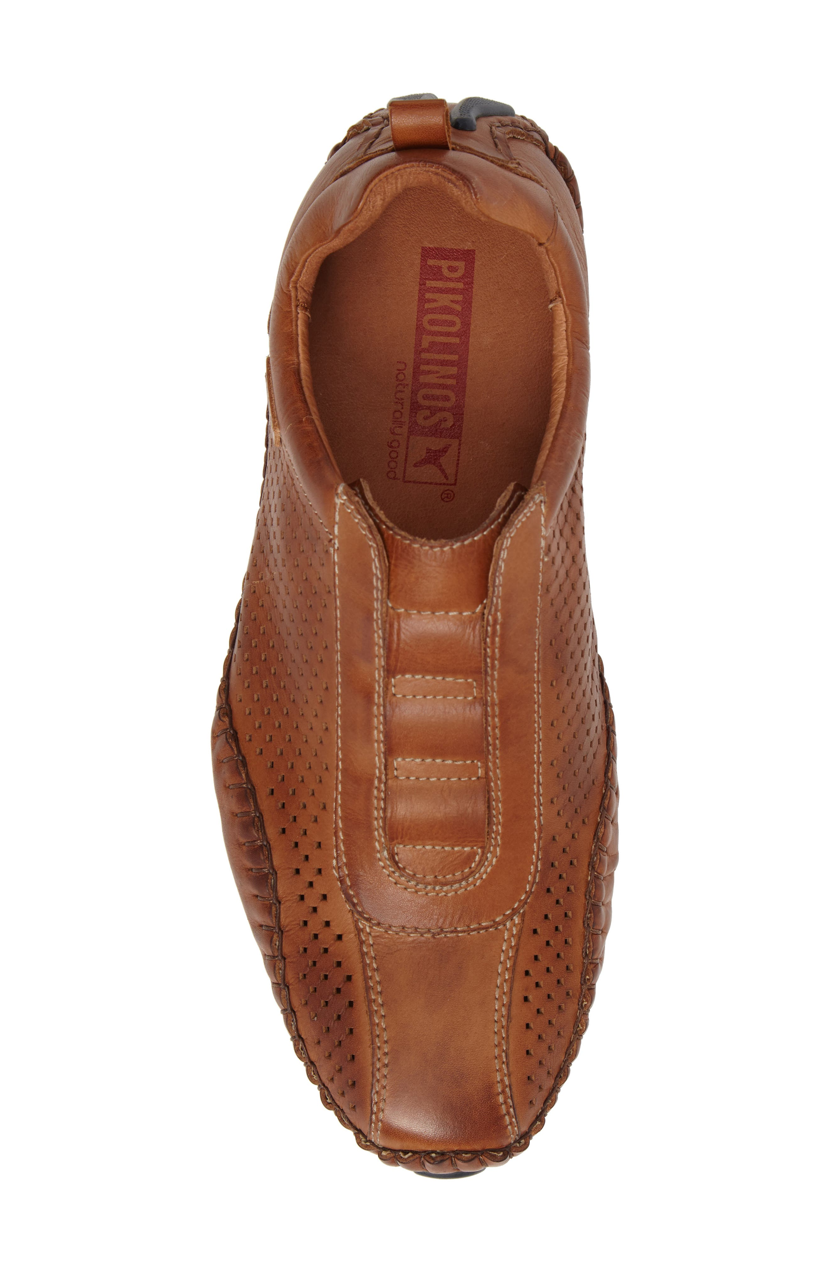 Fuencarral Driving Shoe,                             Alternate thumbnail 5, color,                             Brandy Leather
