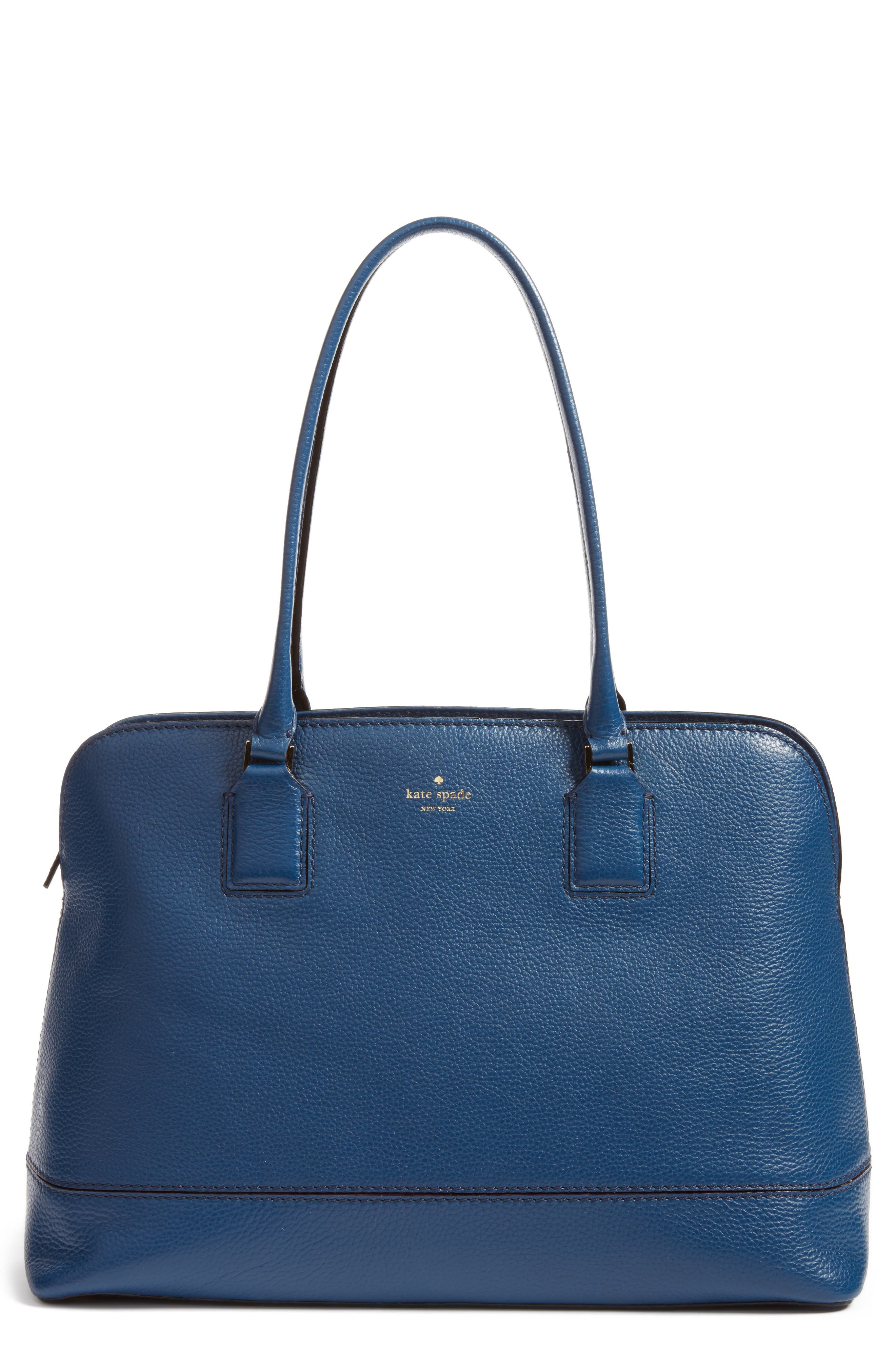 kate spade new york young lane - marybeth leather tote with removable laptop sleeve