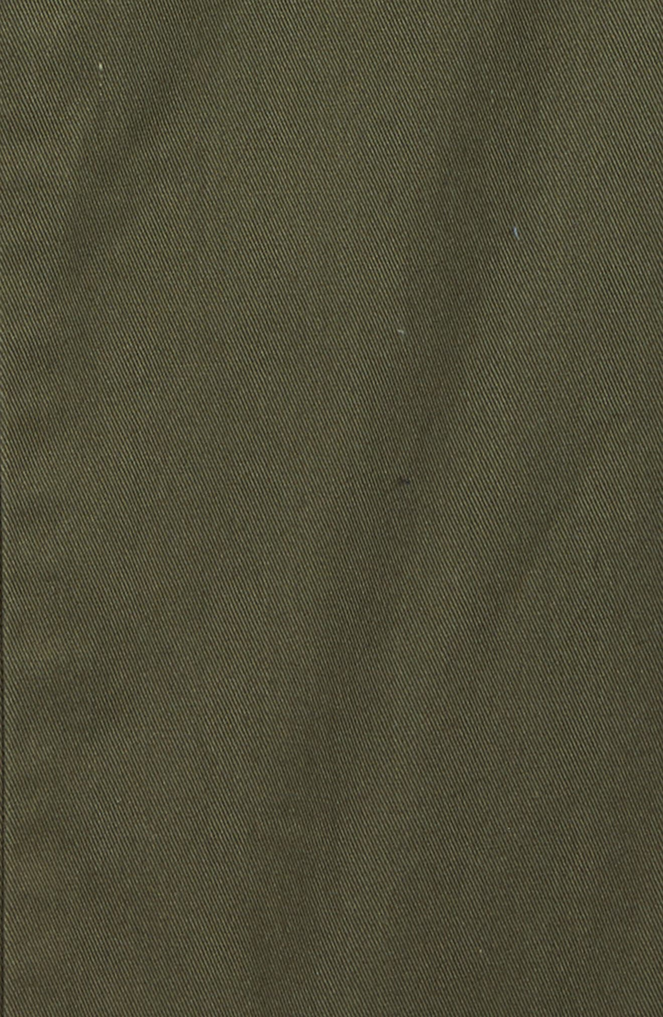 Carter Stretch Twill Chinos,                             Alternate thumbnail 2, color,                             Military