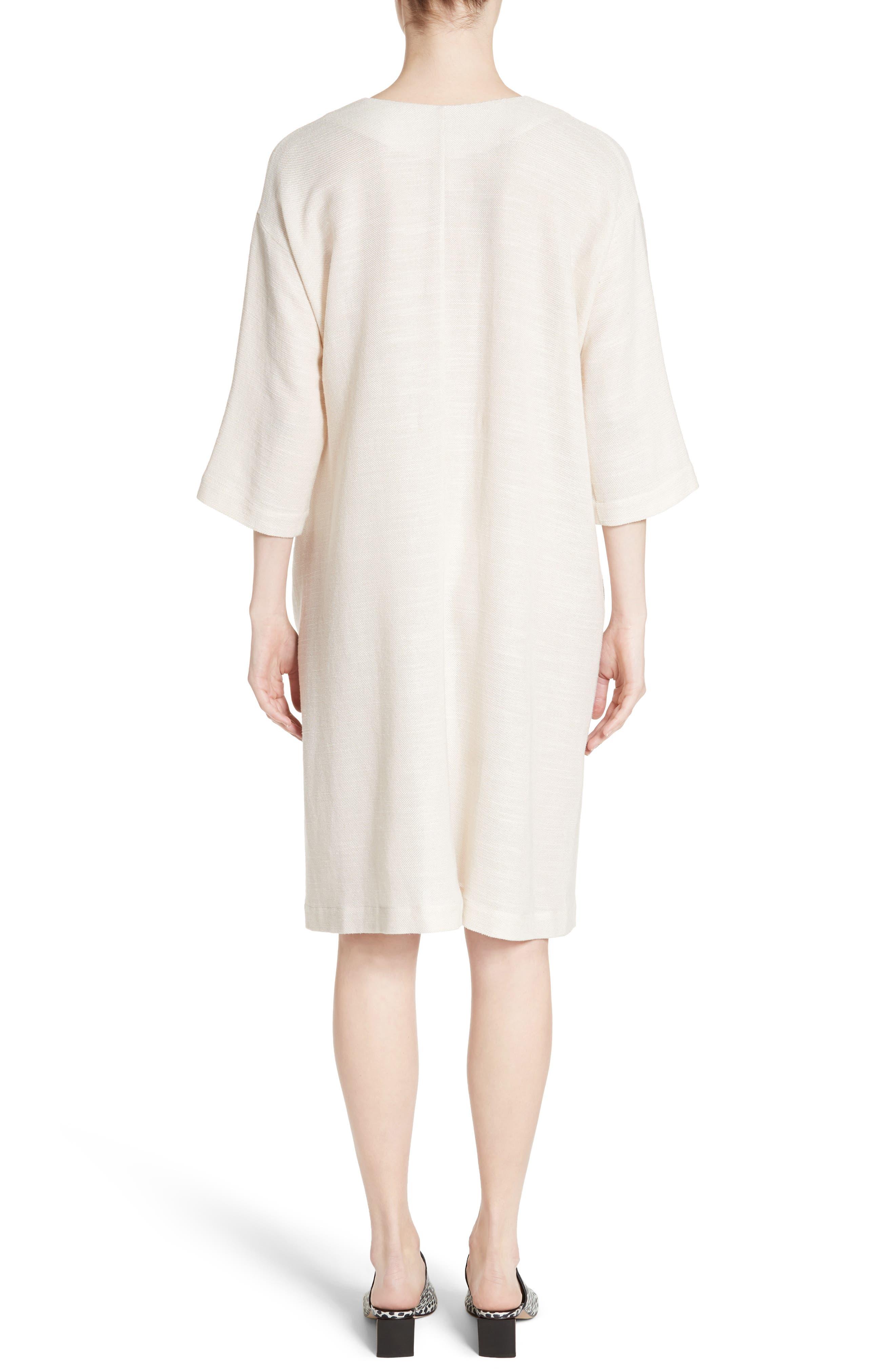 Alternate Image 2  - Zero + Maria Cornejo MC Mesh Drape Dress