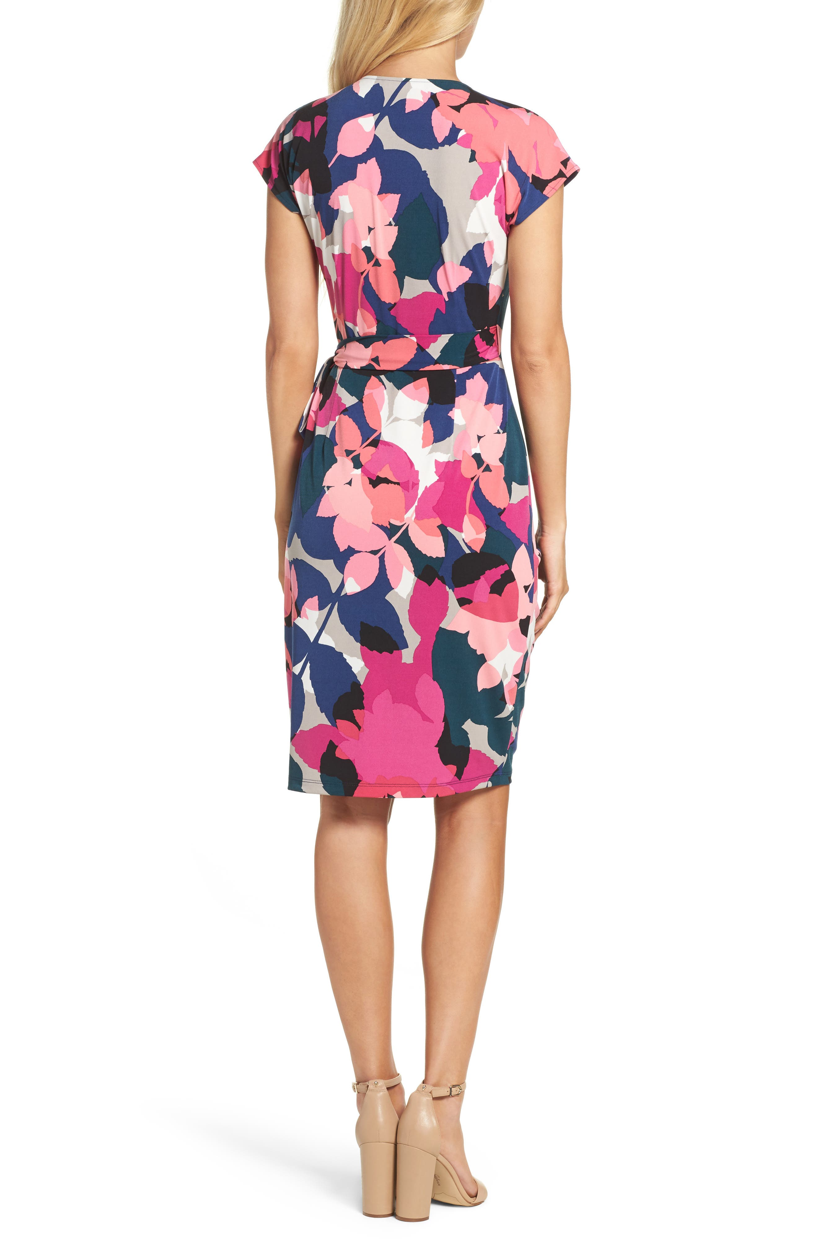 Alternate Image 2  - Maggy London Jersey Wrap Dress (Regular & Petite)