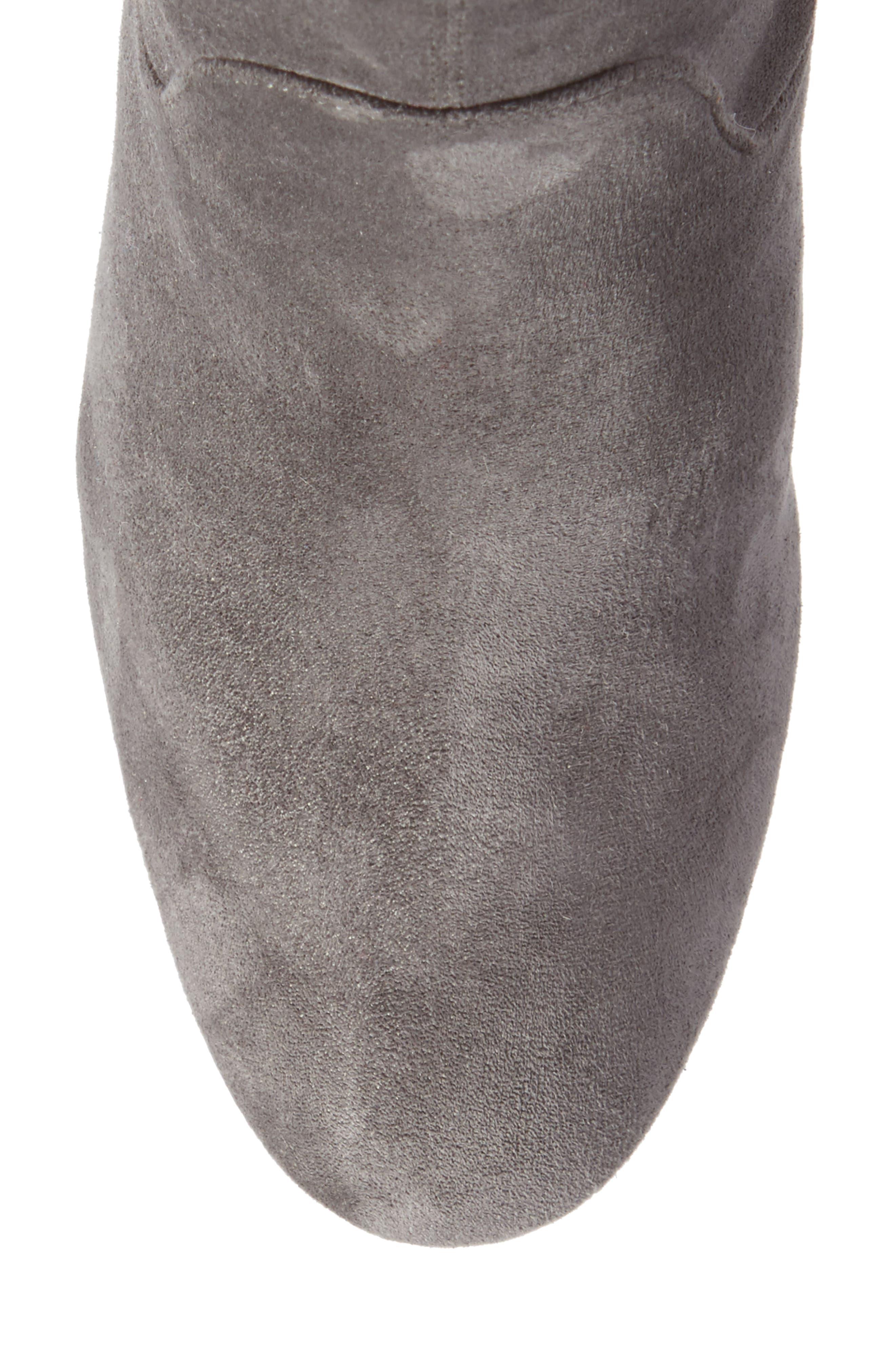 Alternate Image 5  - Halogen® Jacy Stretch Sock Bootie (Women)