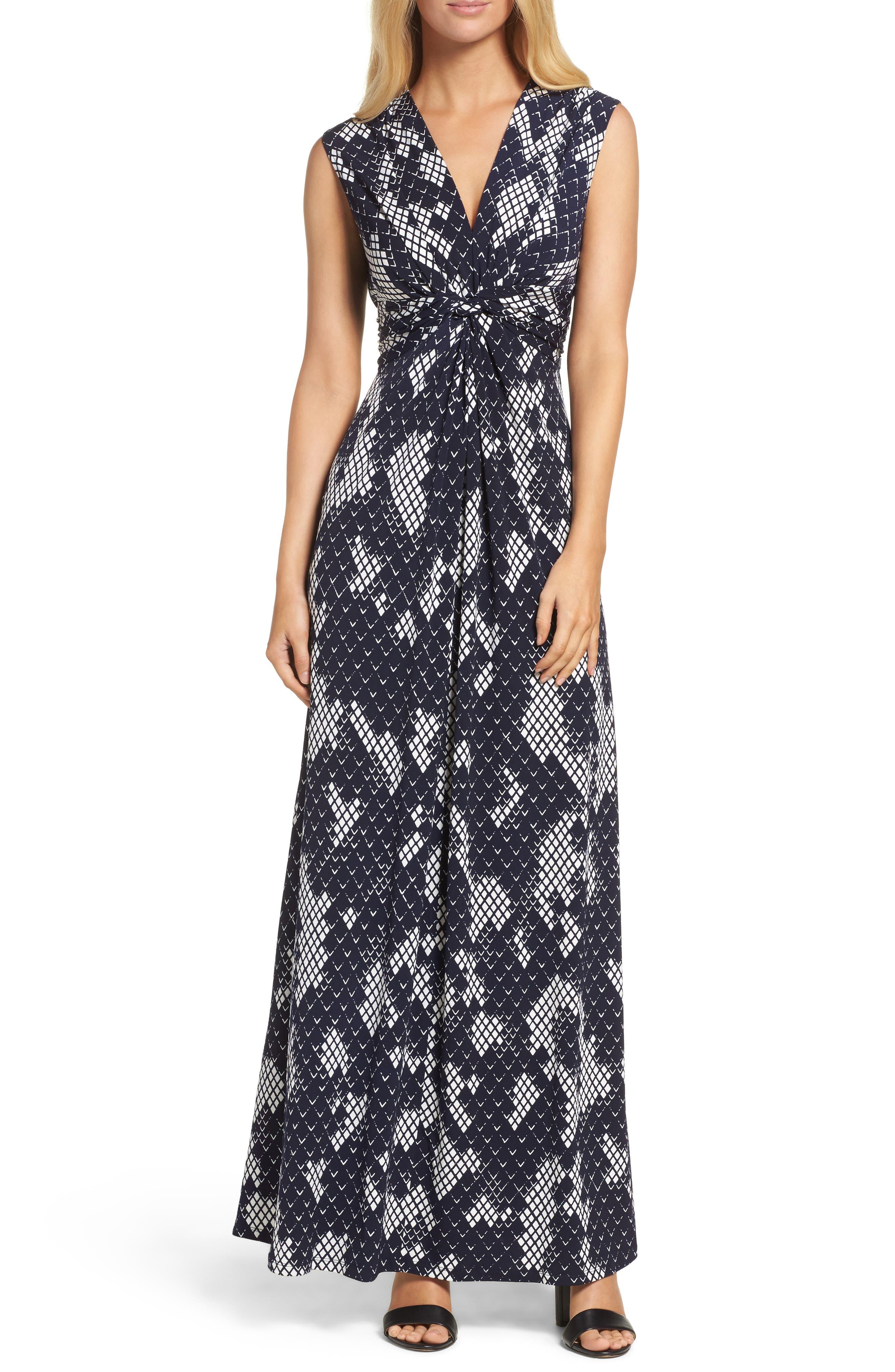 Main Image - Eliza J Jersey Maxi Dress (Regular & Petite)