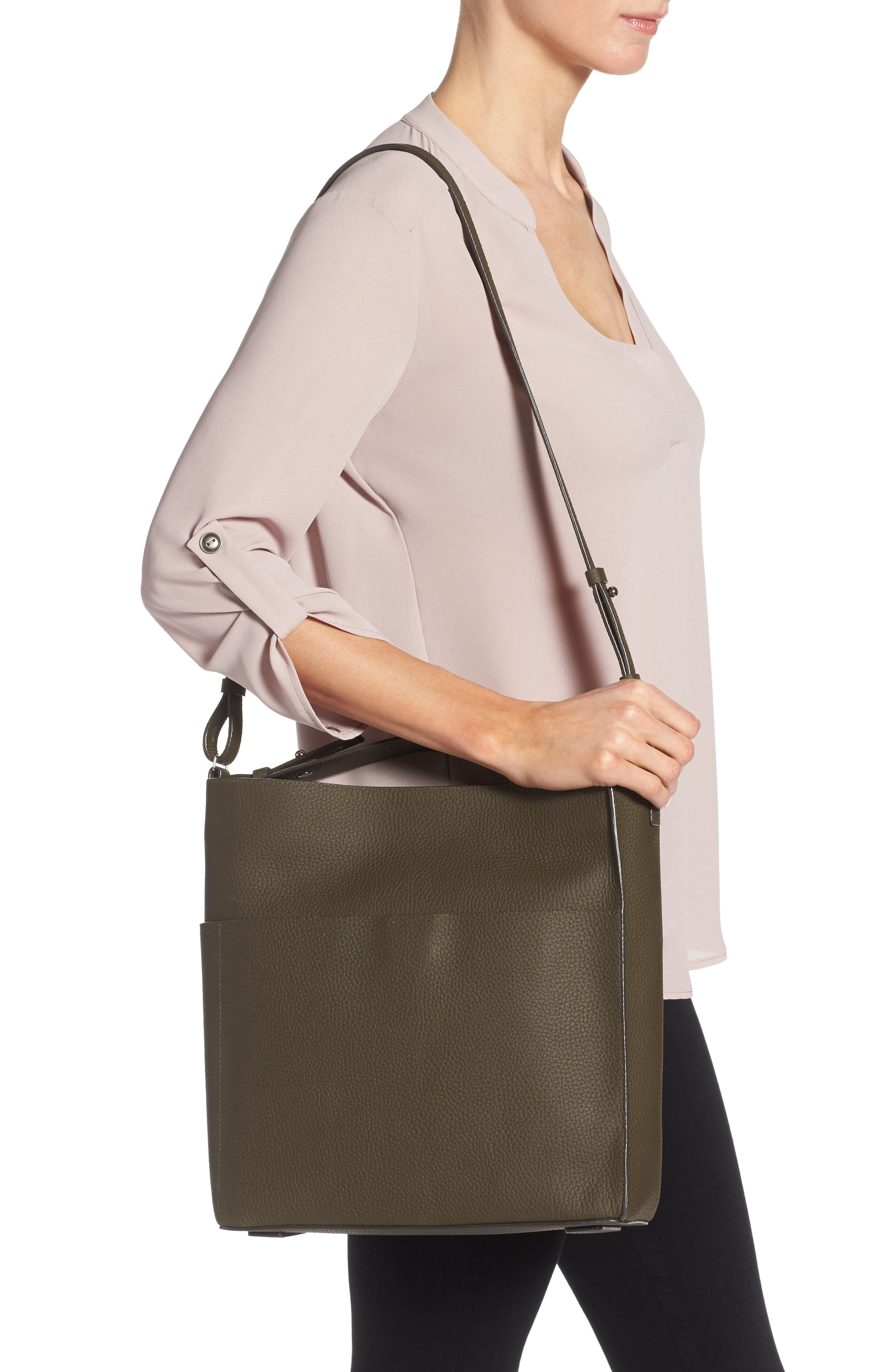Alternate Image 2  - ALLSAINTS Mast Crossbody Tote (Nordstrom Exclusive)