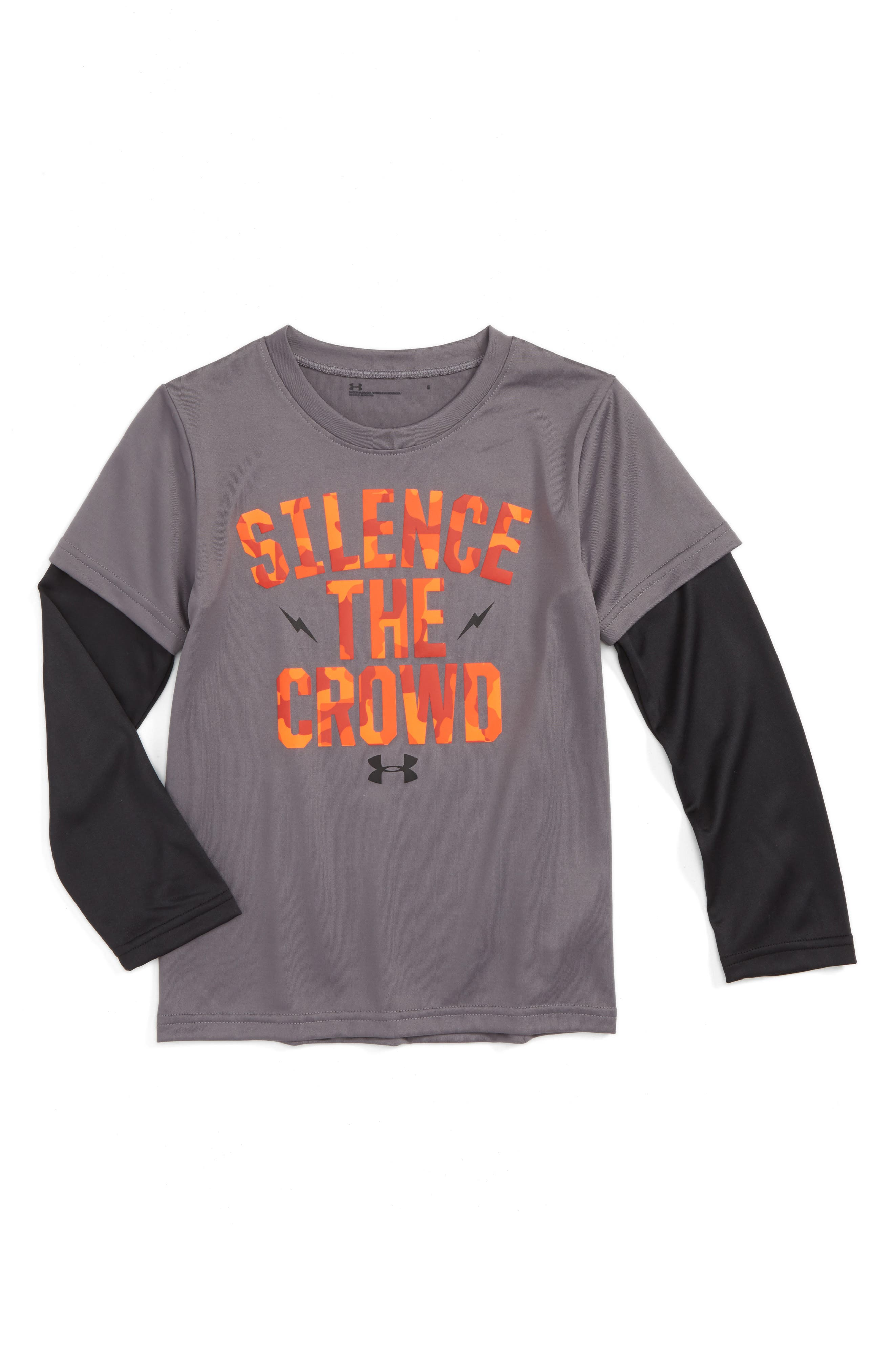 Under Armour Silence The Crowd Graphic T-Shirt (Toddler Boys & Little Boys)
