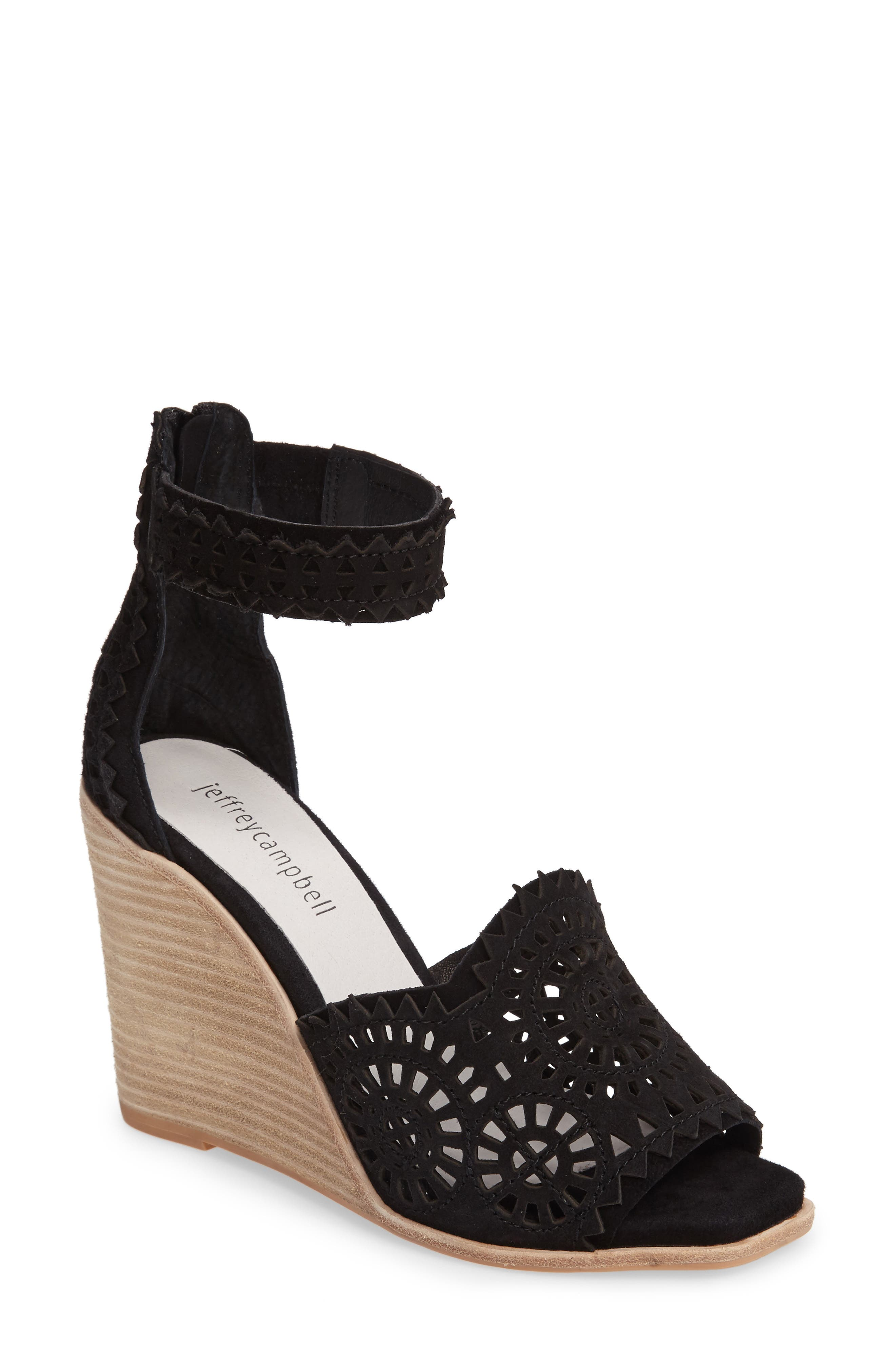 Alternate Image 1 Selected - Jeffrey Campbell Del Sol Wedge Sandal (Women)