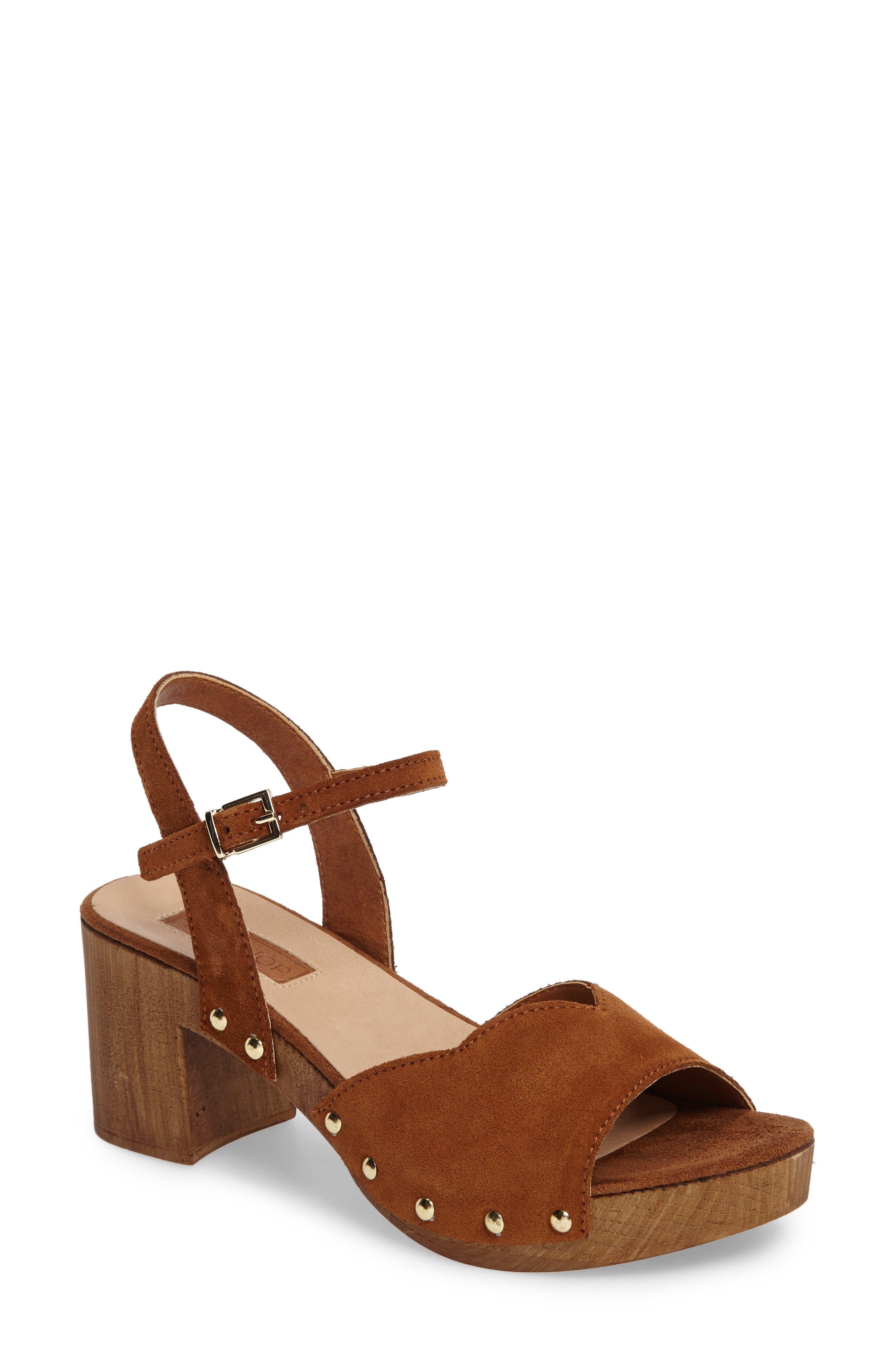 Topshop Valentine Platform Sandal (Women)