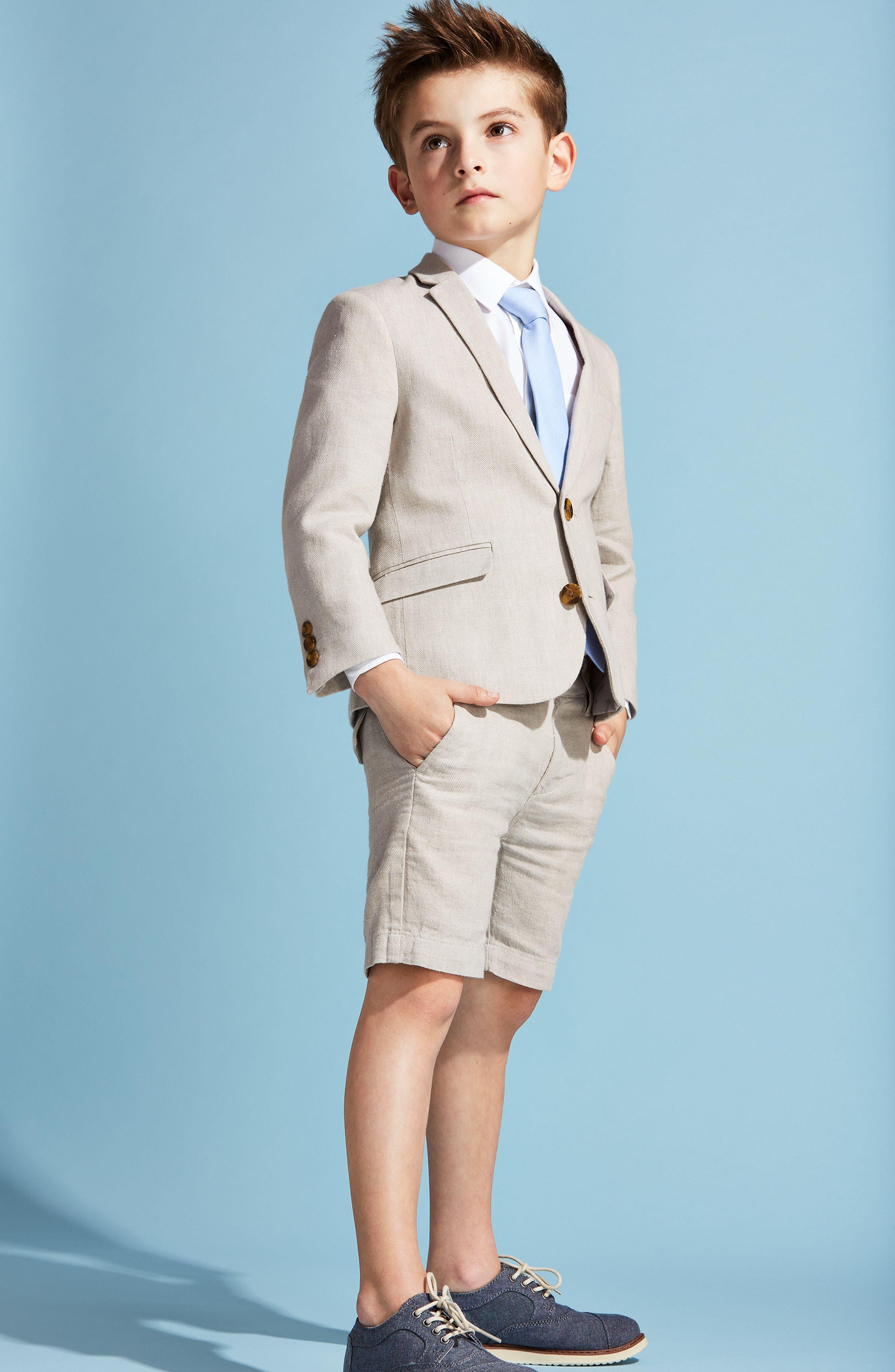 Alternate Image 3  - Appaman Linen Suit Jacket (Toddler Boys, Little Boys & Big Boys)