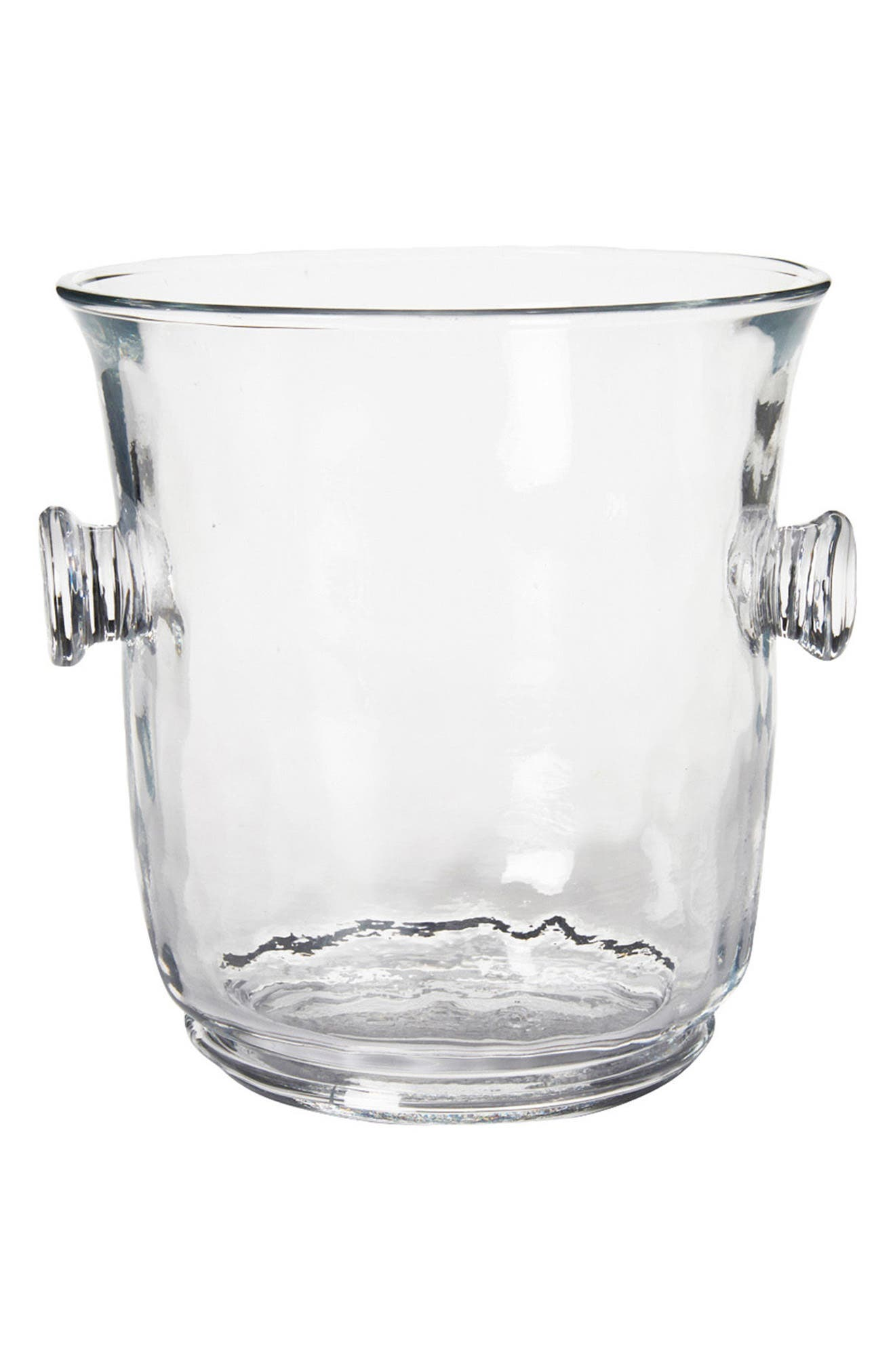 Carine Champagne Bucket,                         Main,                         color, Clear