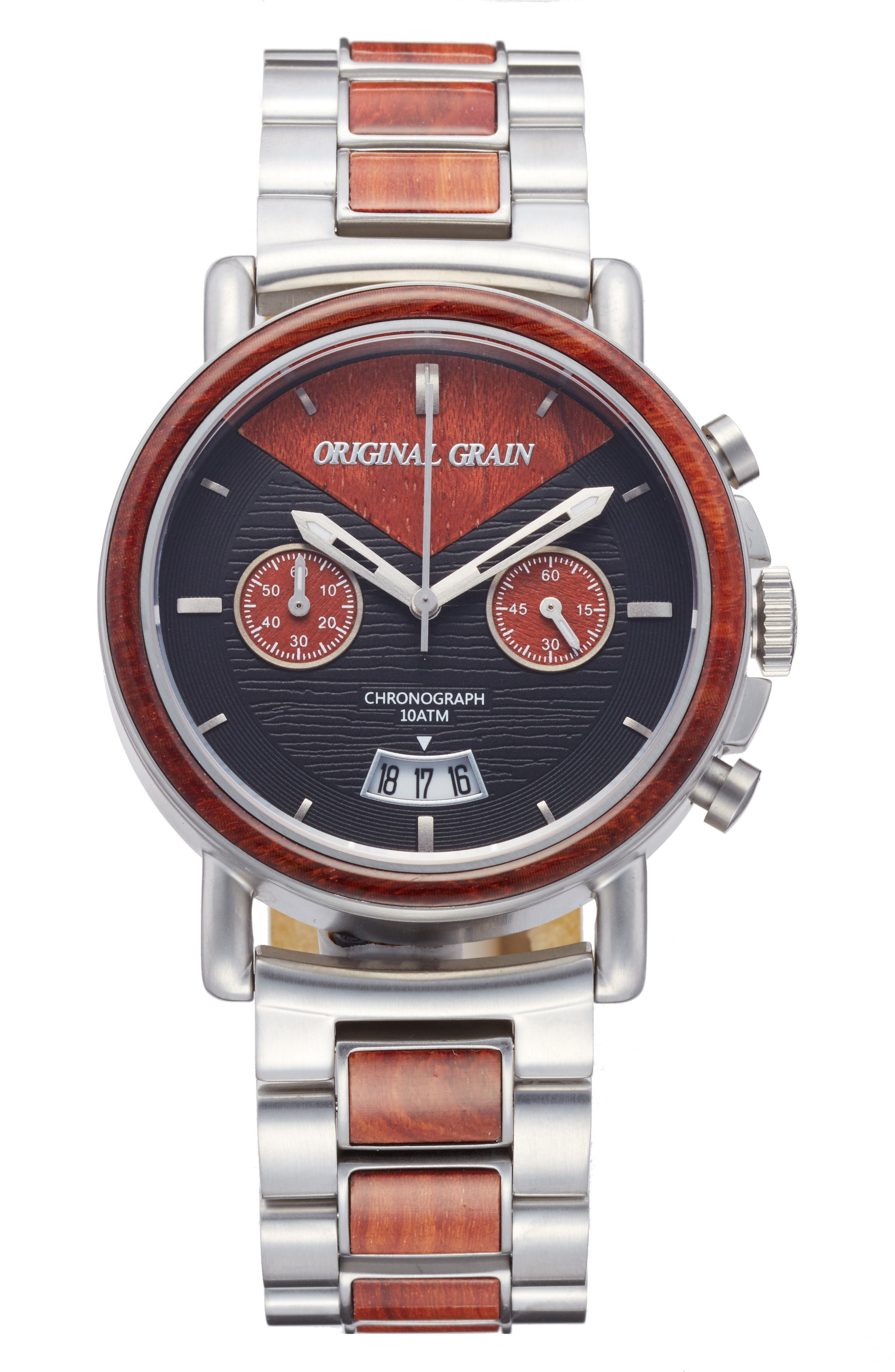 ORIGINAL GRAIN Alterra Chronograph Bracelet Watch