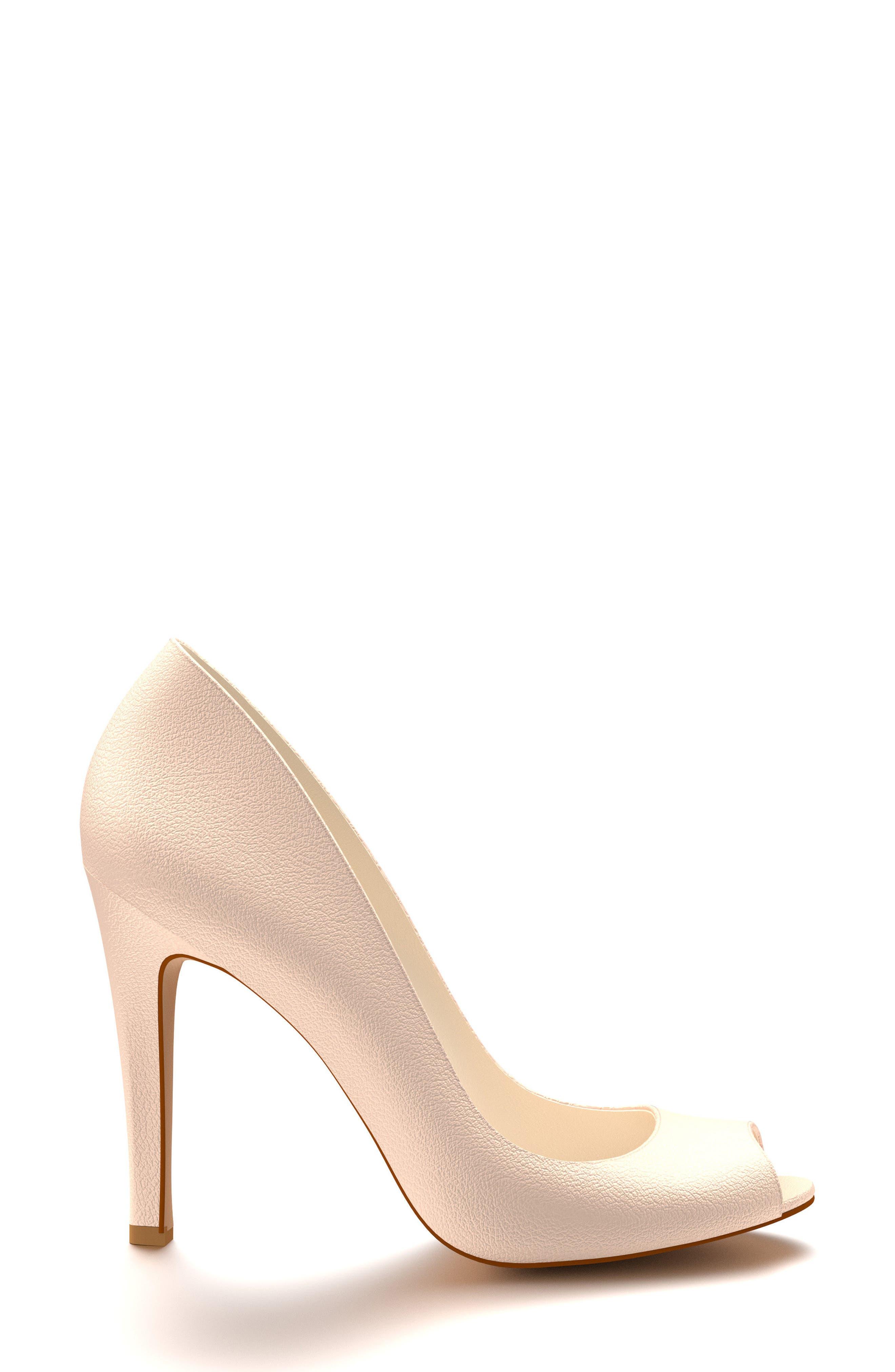 Alternate Image 2  - Shoes of Prey Peep Toe Pump (Women)