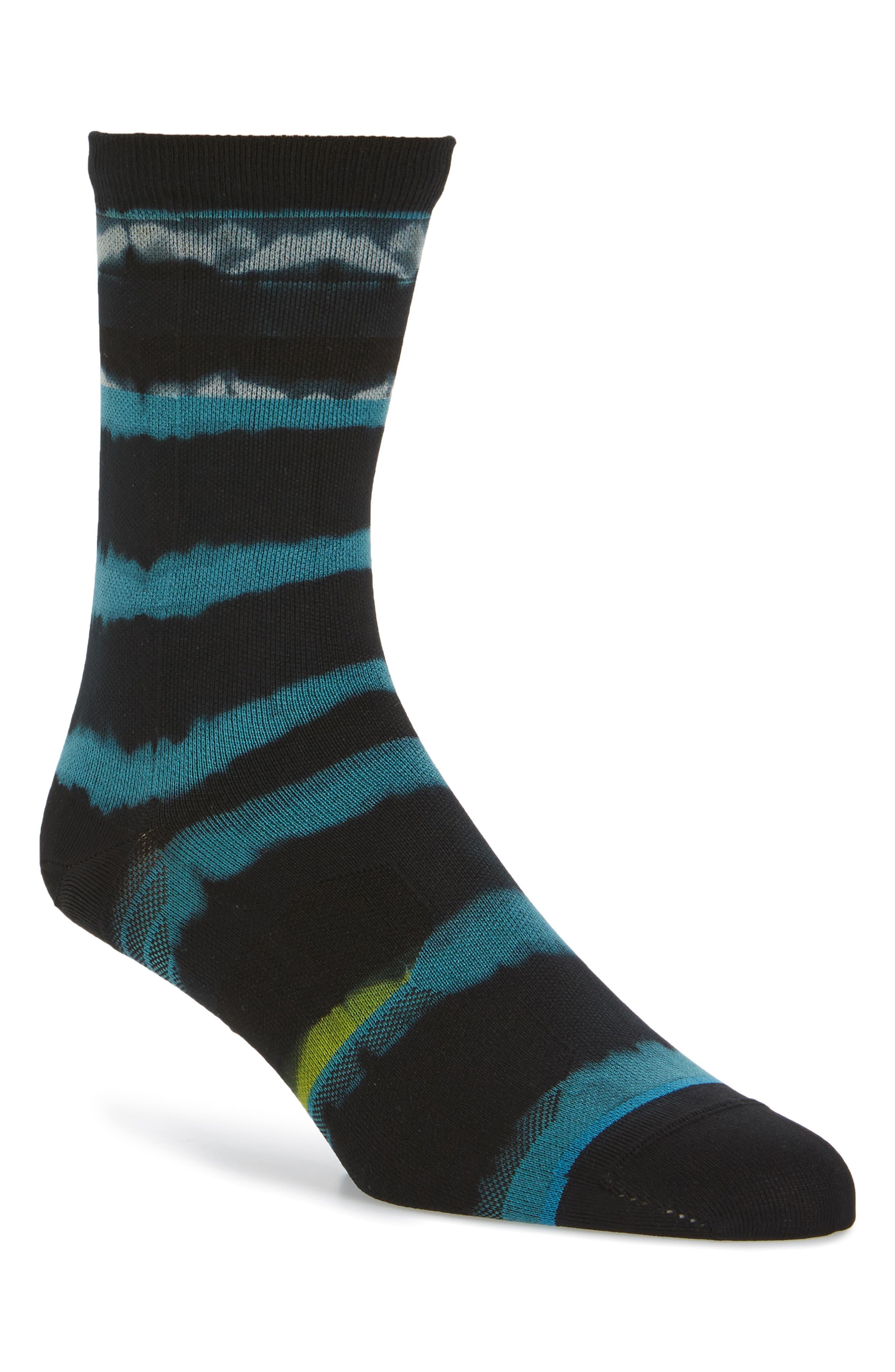 Empower Crew Socks,                         Main,                         color, Blue