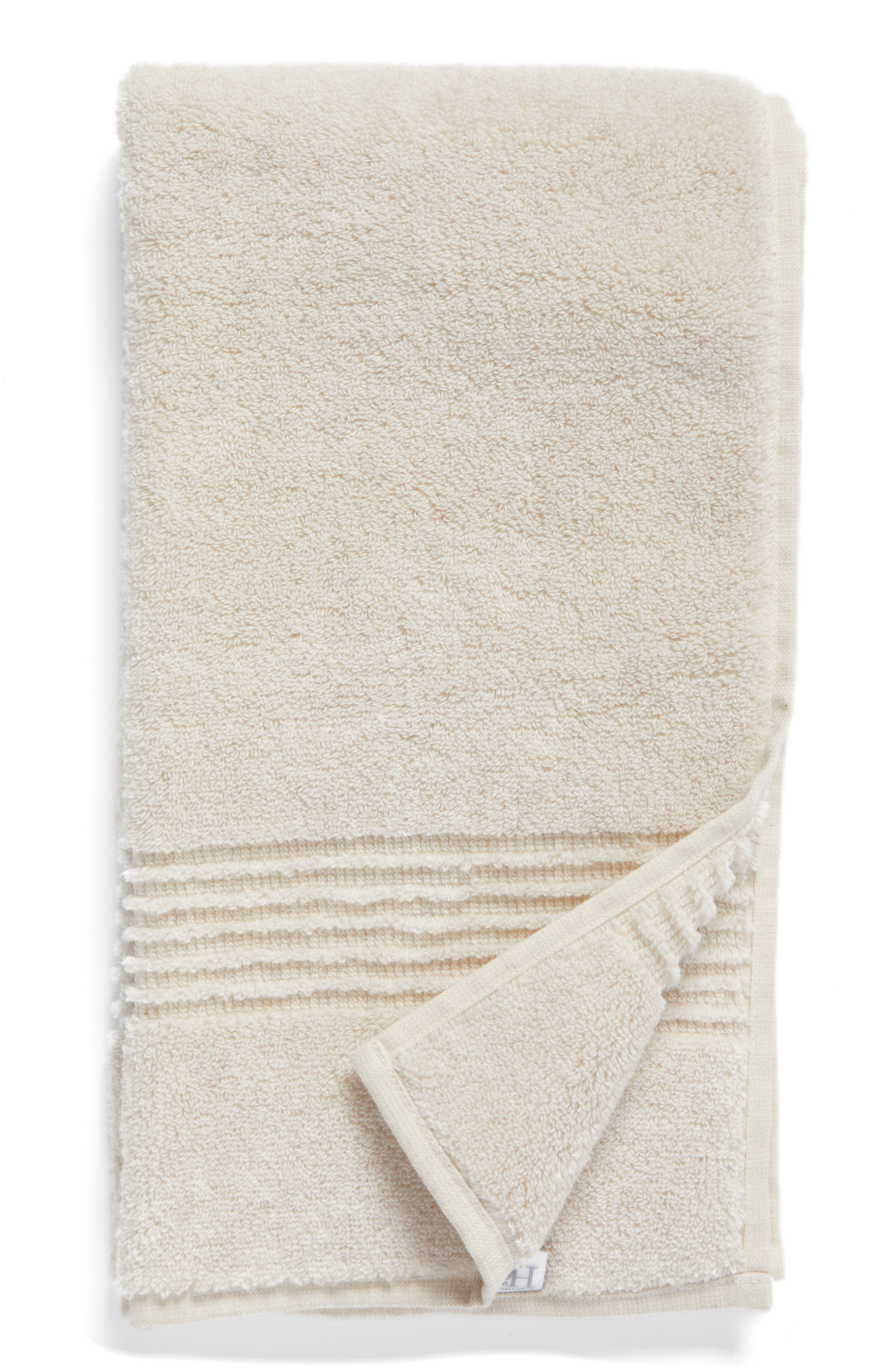 Nordstrom at Home Organic Hydrocotton Heathered Hand Towel