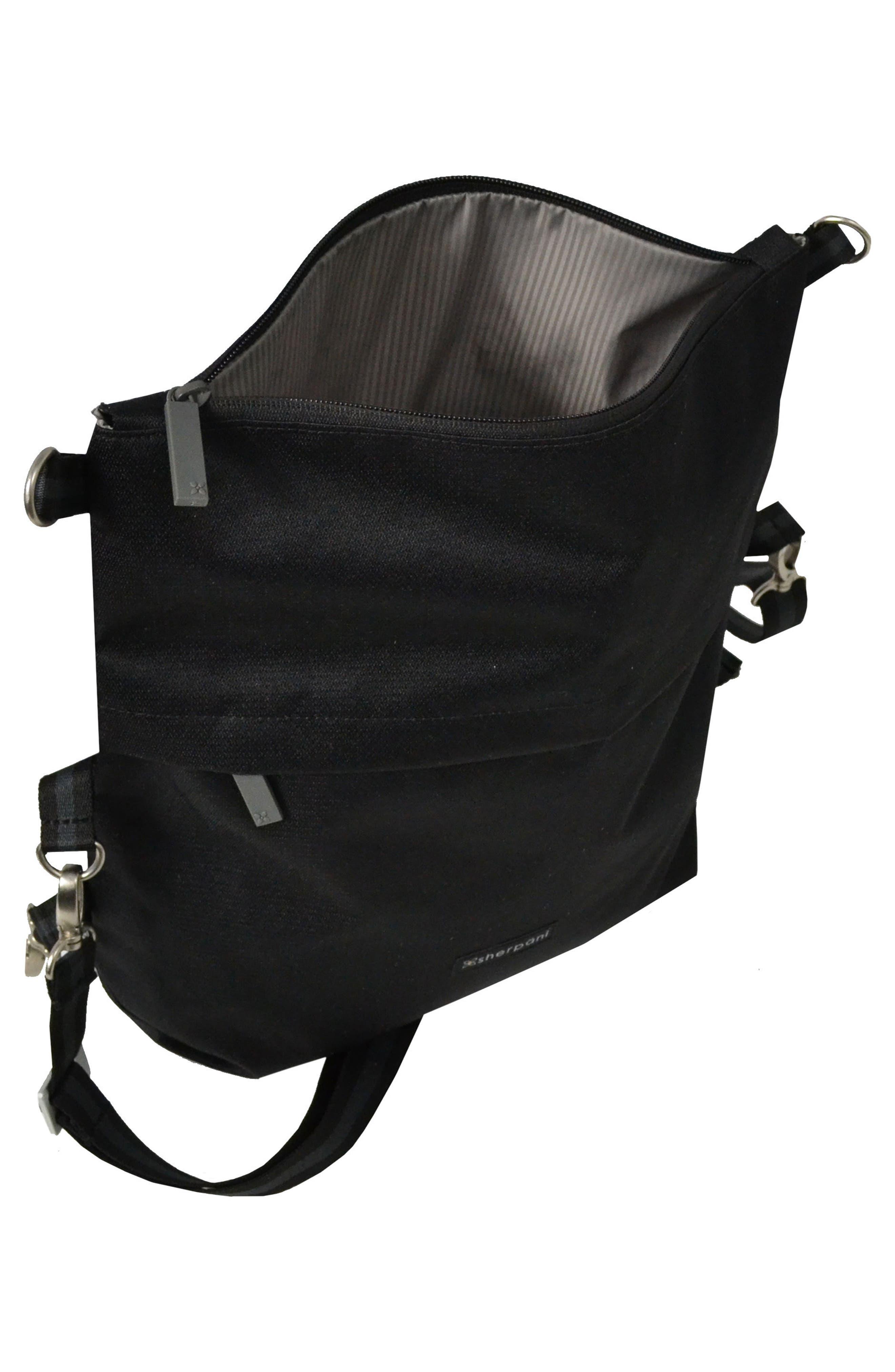 Vale Reversible Crossbody Bag,                             Alternate thumbnail 3, color,                             Ash